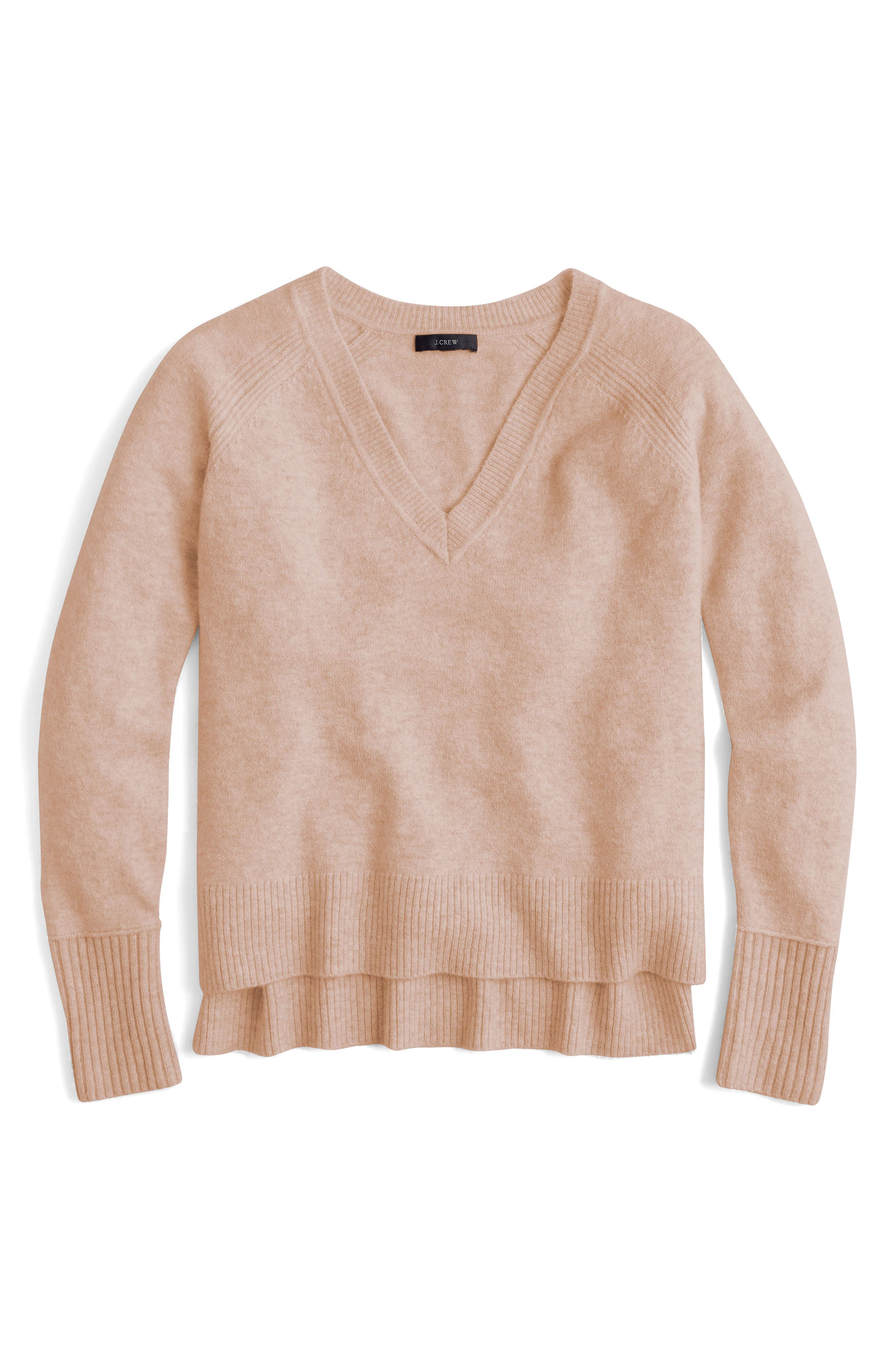 Supersoft Yarn V-Neck Sweater,                             Main thumbnail 5, color,