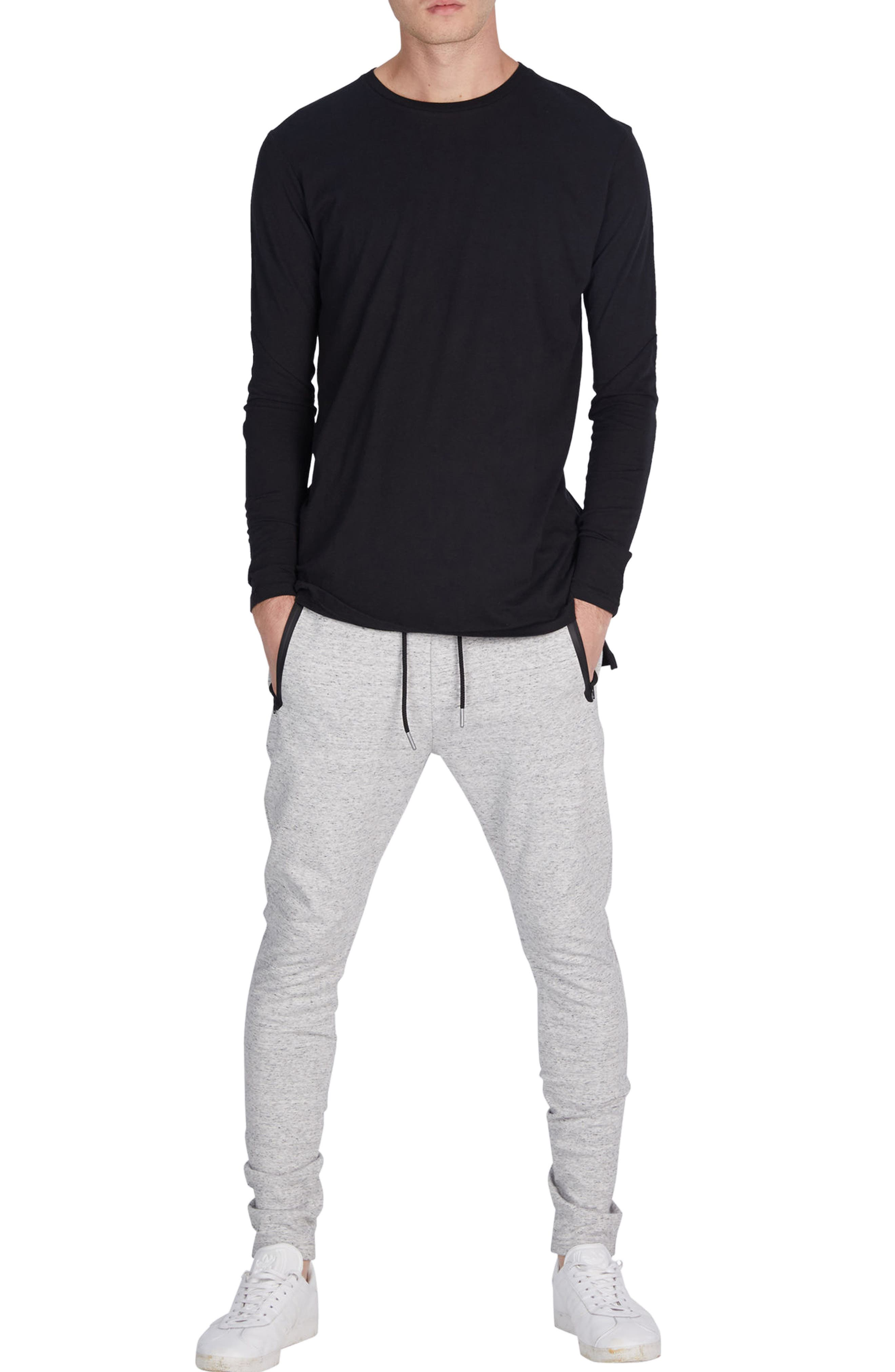 'Cling Ponte' Jogger Pants,                             Alternate thumbnail 5, color,                             059