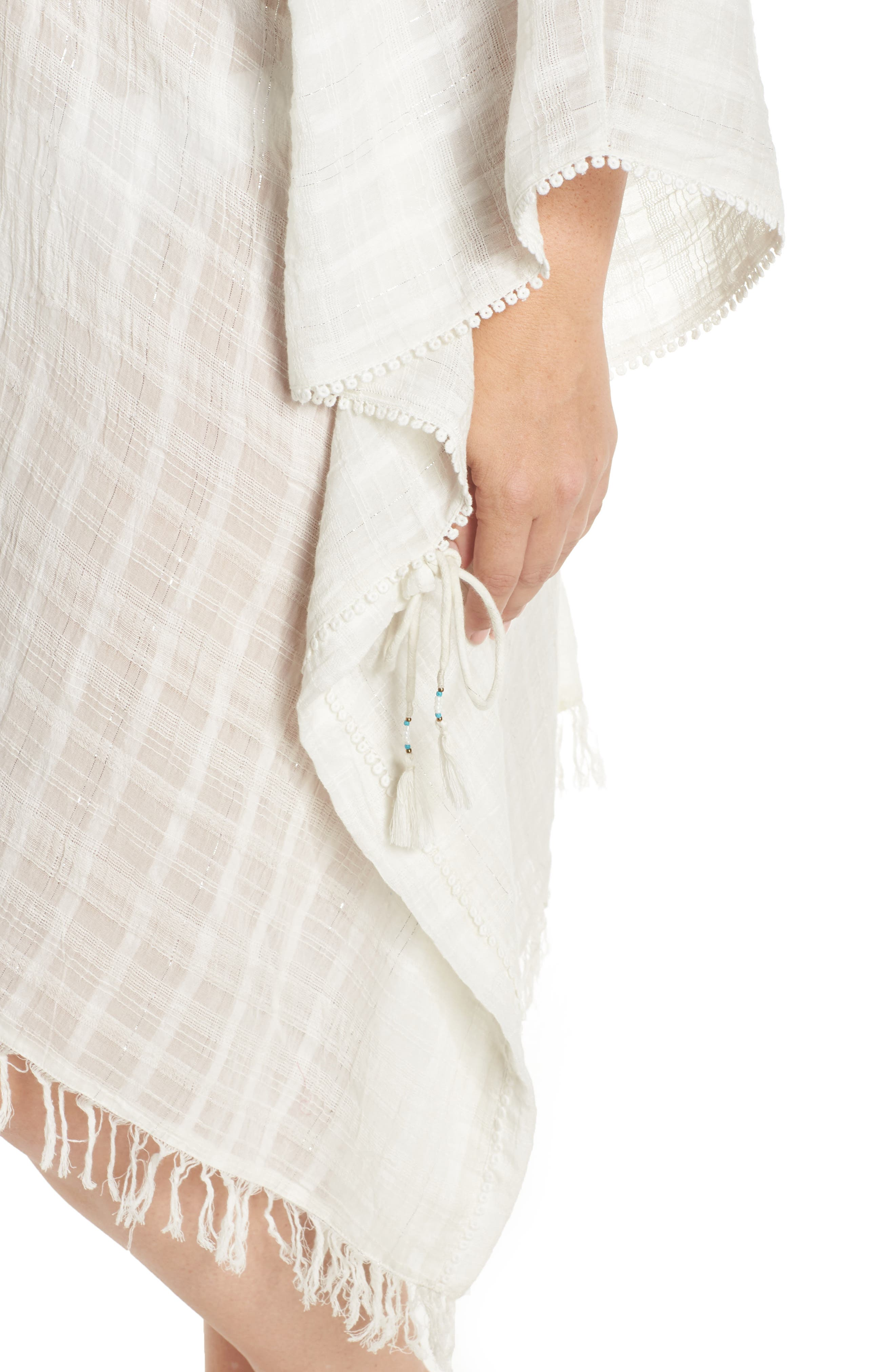 Serendipity Cover-Up Tunic,                             Alternate thumbnail 4, color,                             100
