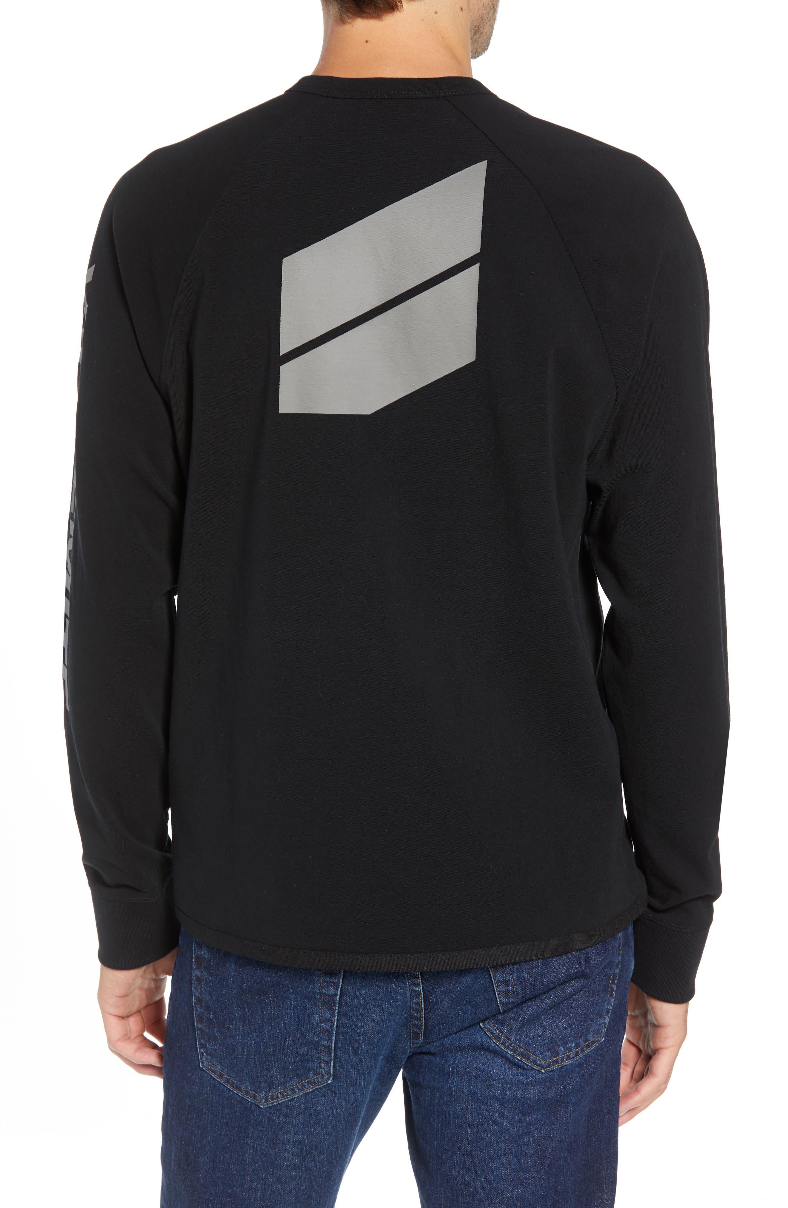 Long Sleeve Graphic T-Shirt,                             Alternate thumbnail 2, color,                             001