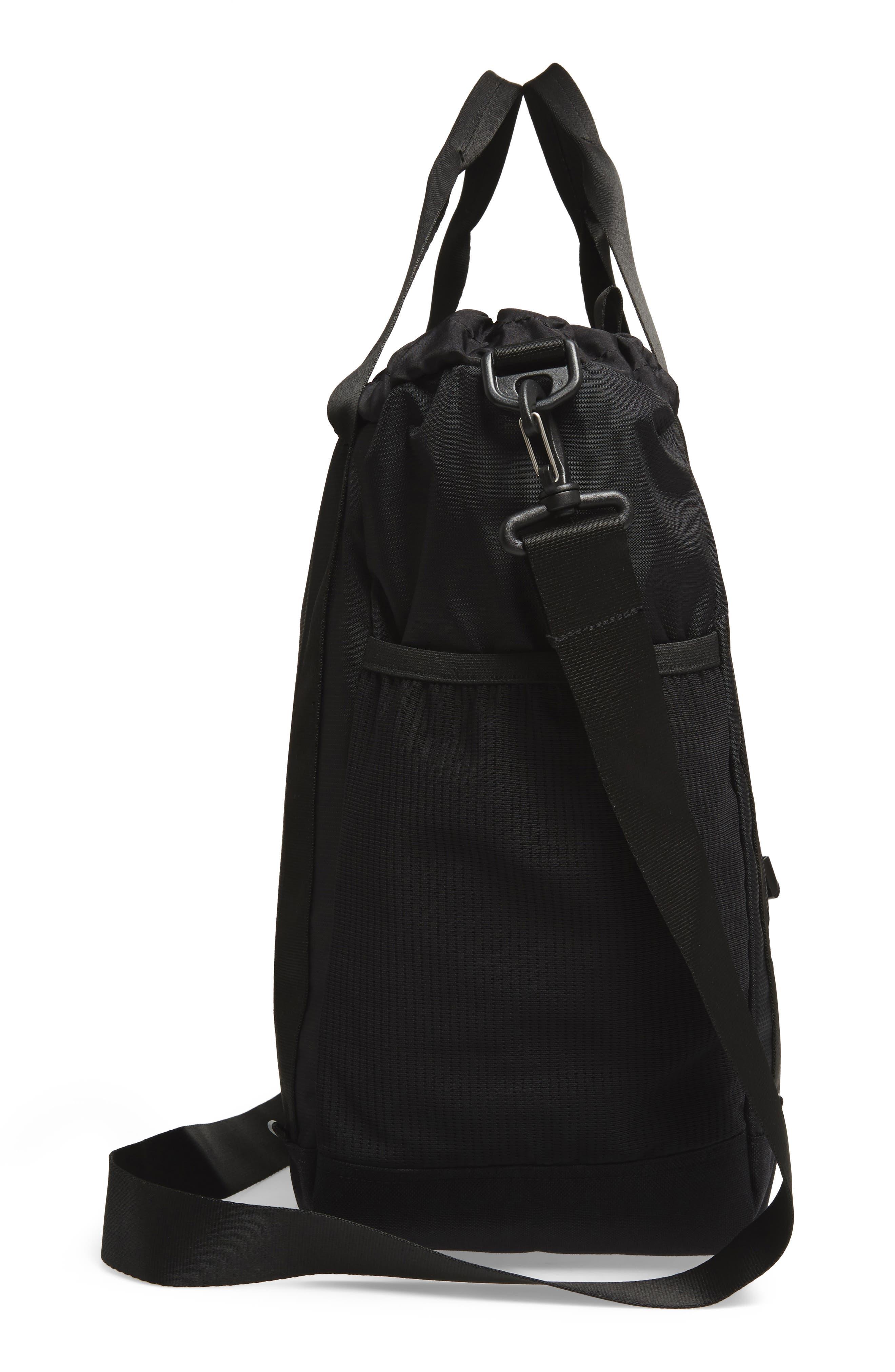 Barnes Trail Tote Bag,                             Alternate thumbnail 5, color,                             BLACK