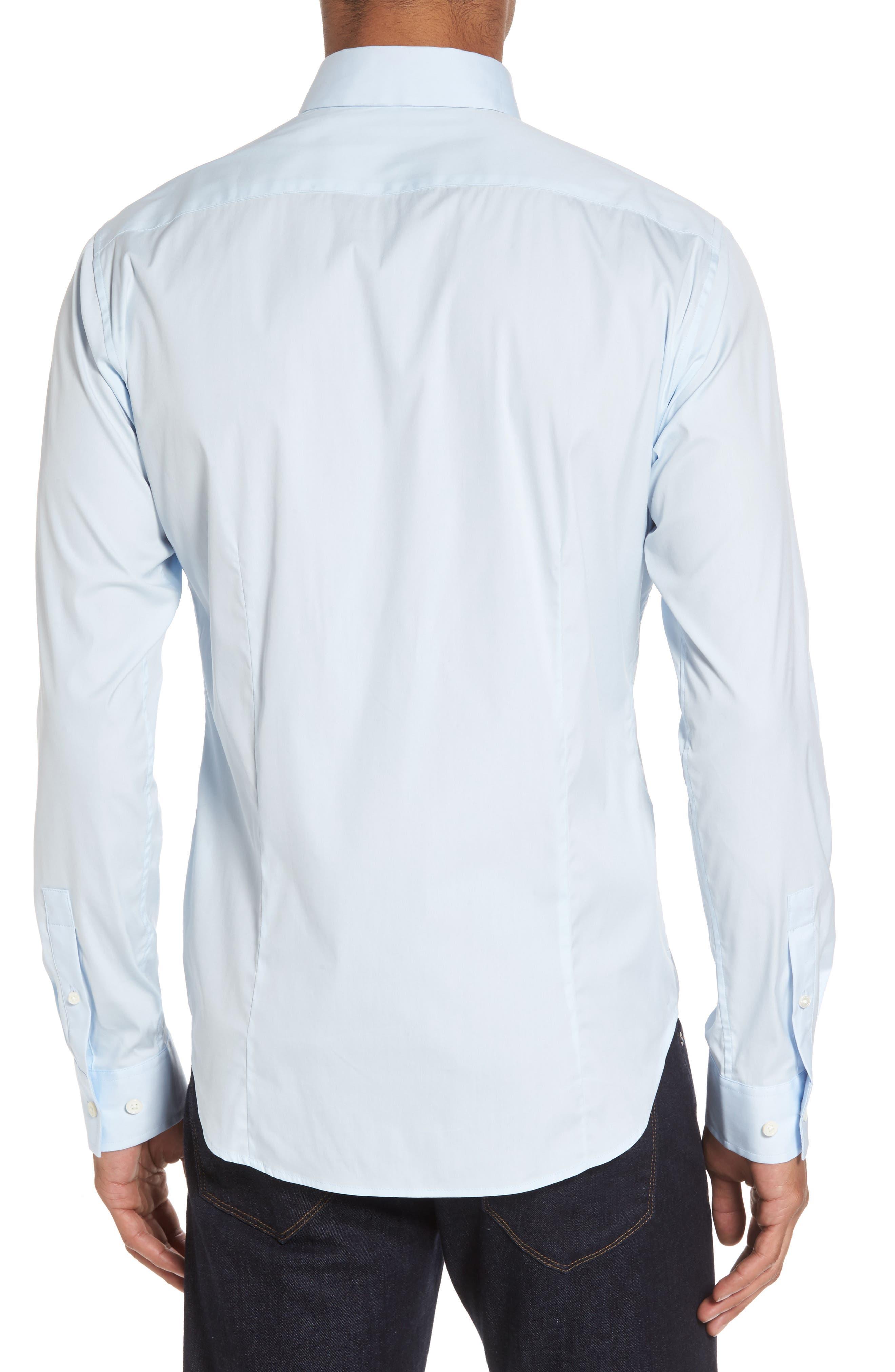 'Sylvain Wealth' Trim Fit Sport Shirt,                             Alternate thumbnail 3, color,                             426