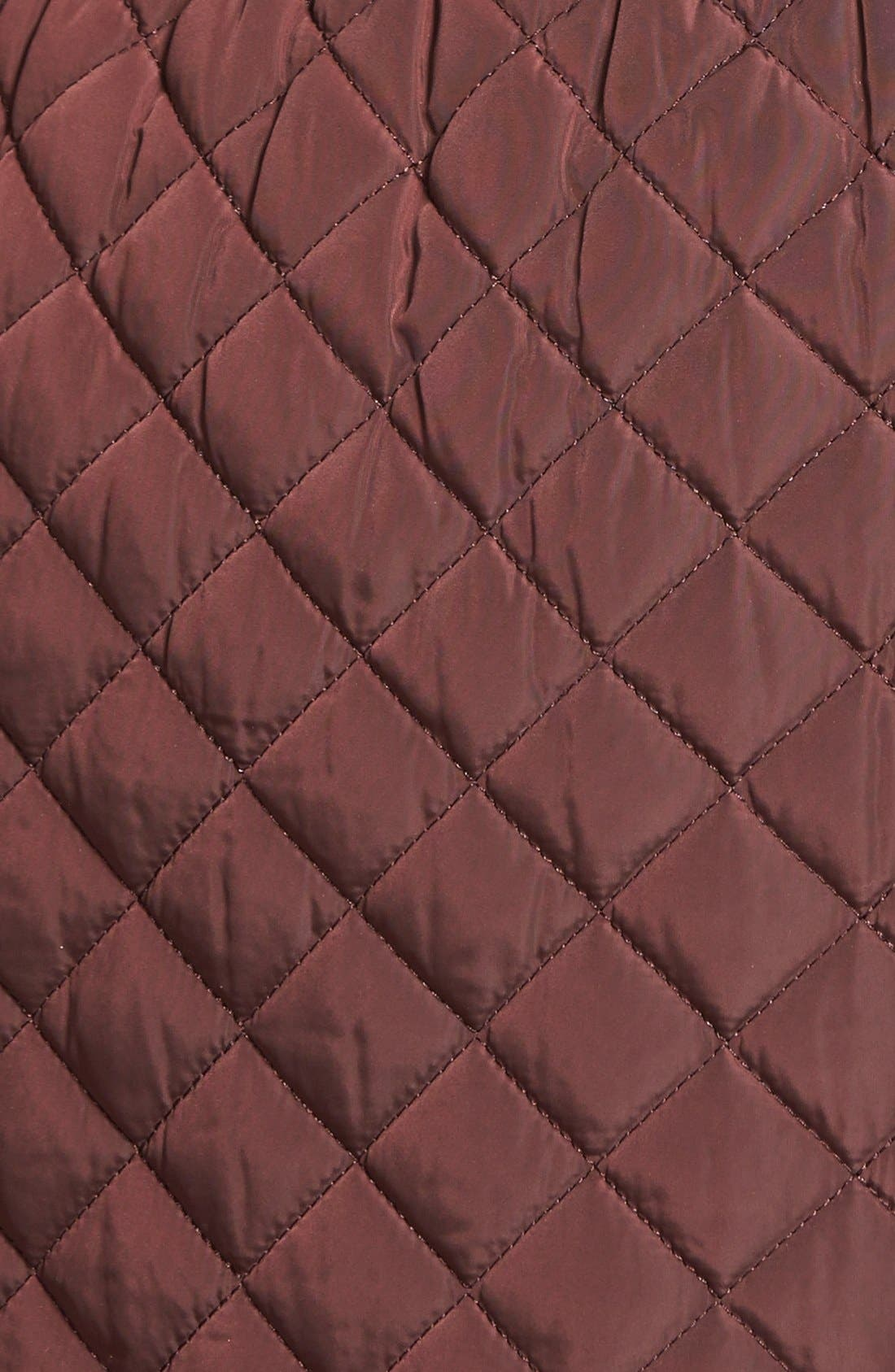Hooded Quilted Jacket,                             Alternate thumbnail 21, color,