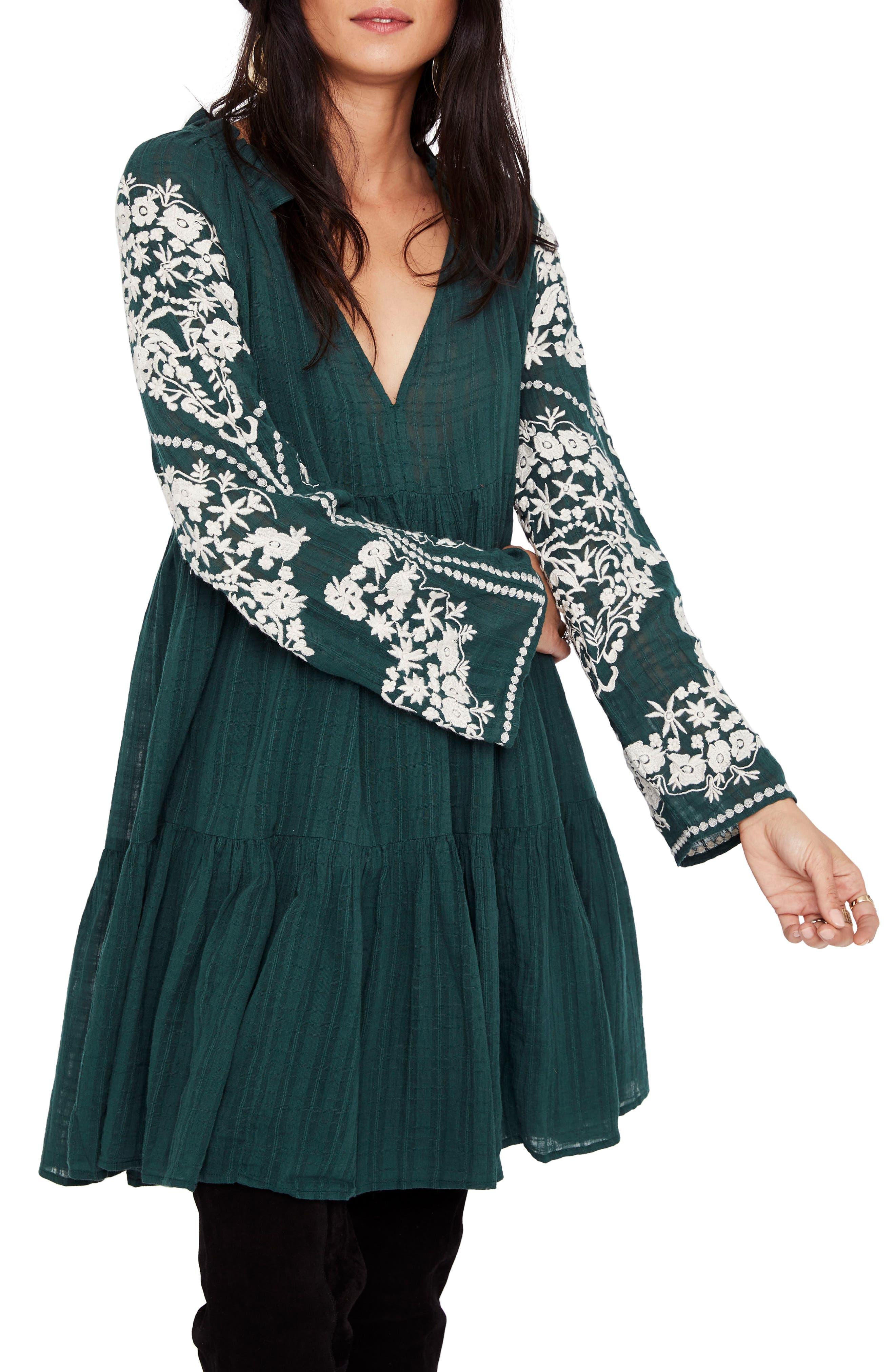 Emerald City Shift Dress,                         Main,                         color, 300