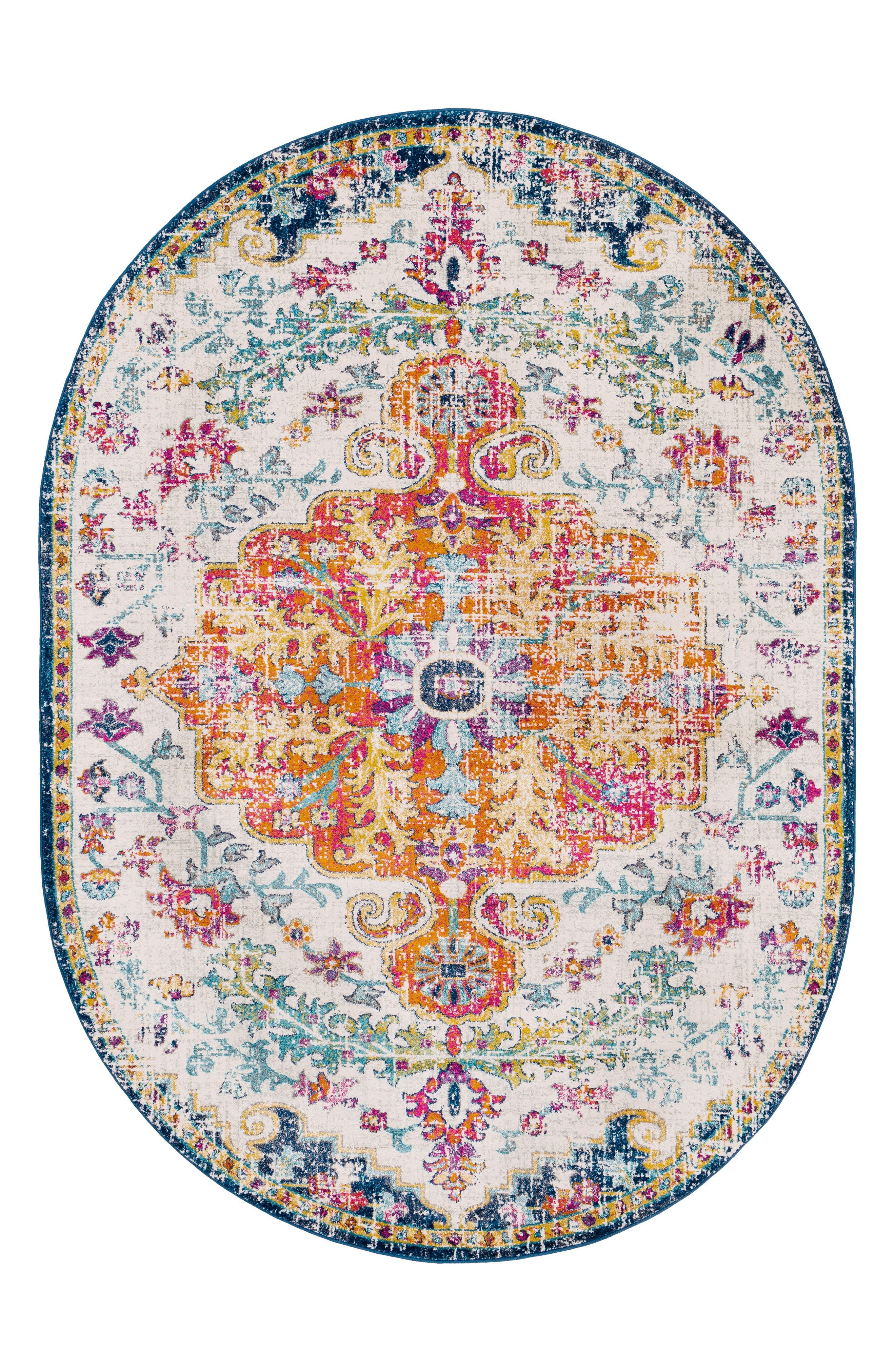 Harput Area Rug,                             Alternate thumbnail 7, color,                             YELLOW