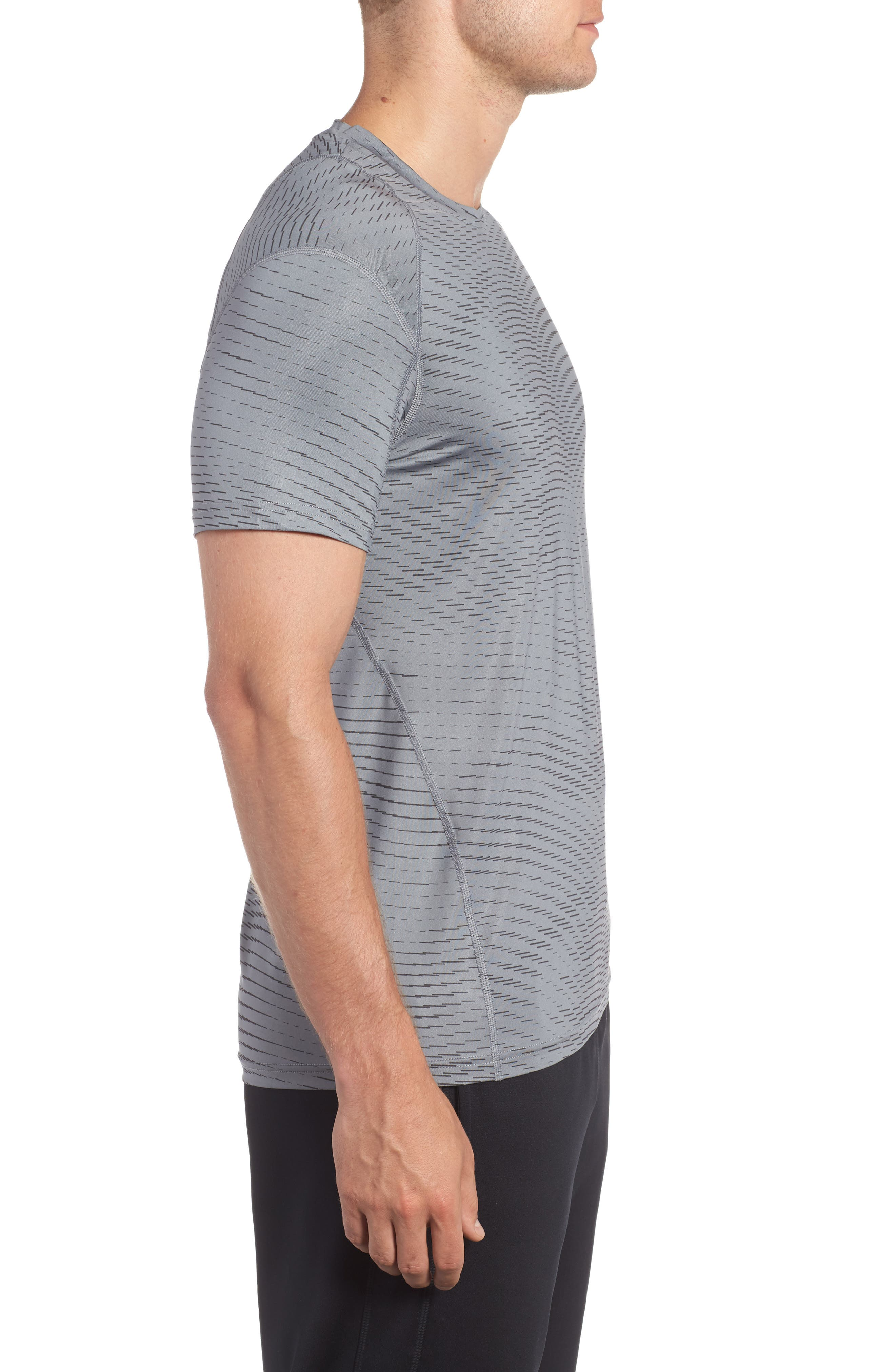 Fitted Athletic T-Shirt,                             Alternate thumbnail 3, color,                             065