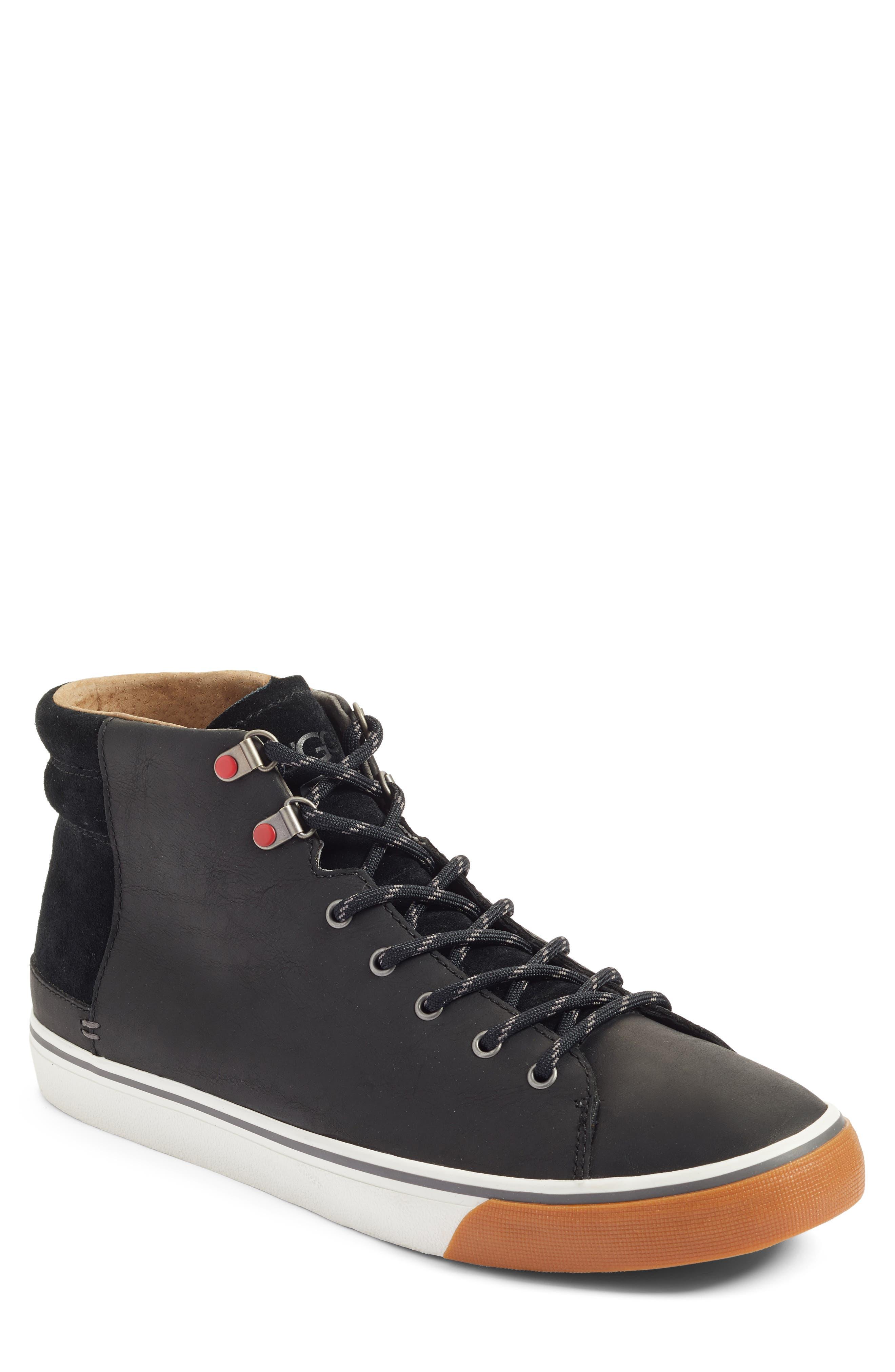 Hoyt High Top Sneaker,                         Main,                         color, 001
