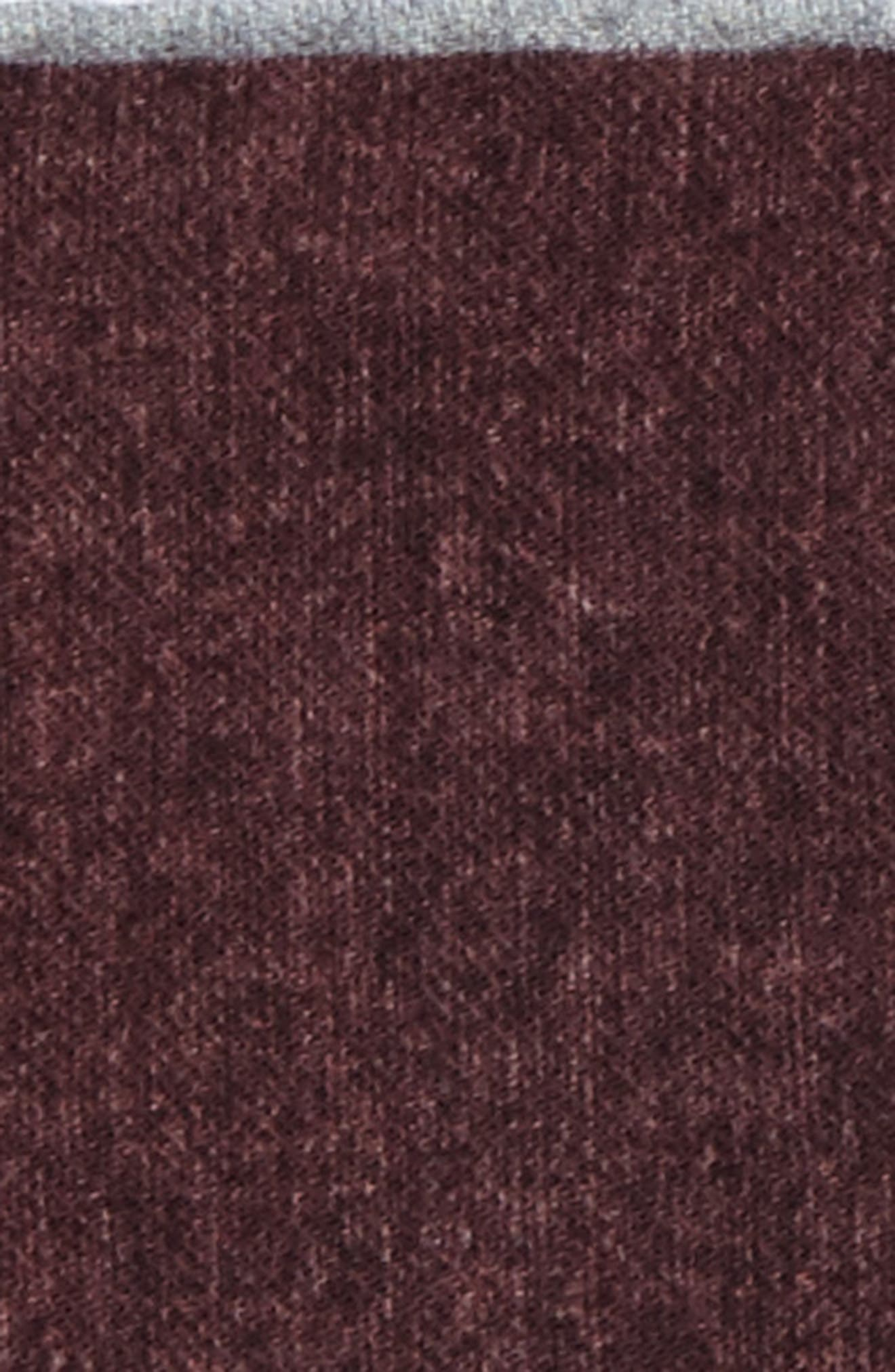 Flannel Wool Pocket Square,                             Alternate thumbnail 9, color,