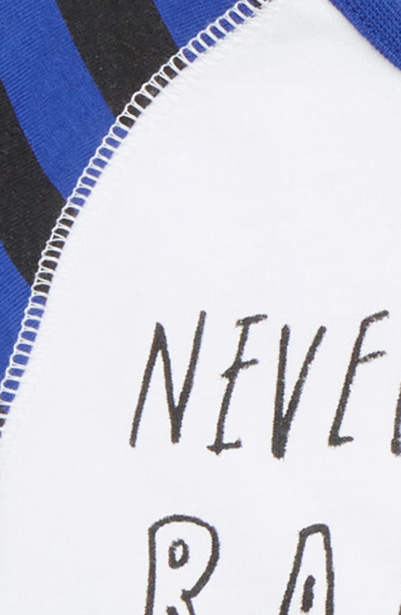 Never a Rainbow Without a Little Rain Tee,                             Alternate thumbnail 2, color,                             WHITE