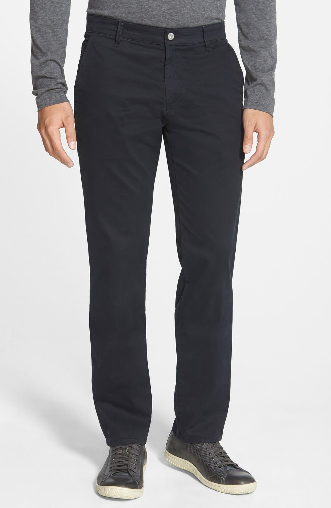 'The Lux' Tailored Straight Leg Chinos,                             Main thumbnail 2, color,