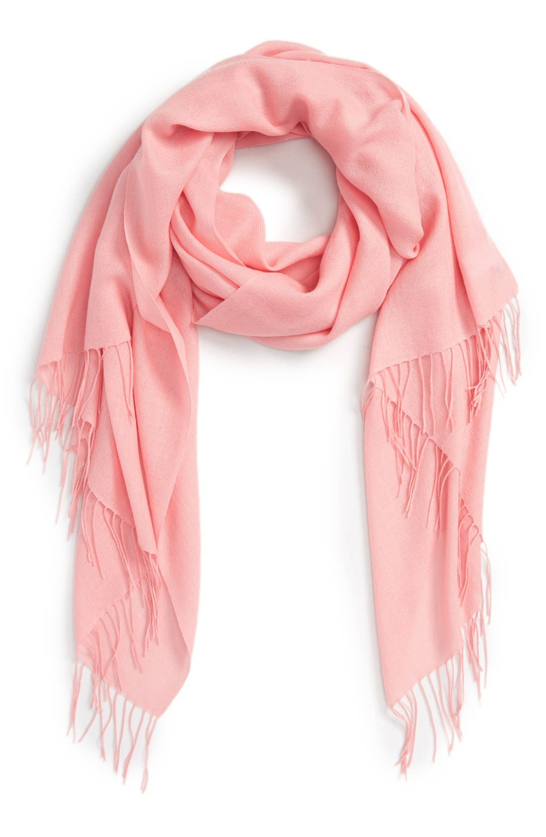 Tissue Weight Wool & Cashmere Scarf,                             Main thumbnail 62, color,