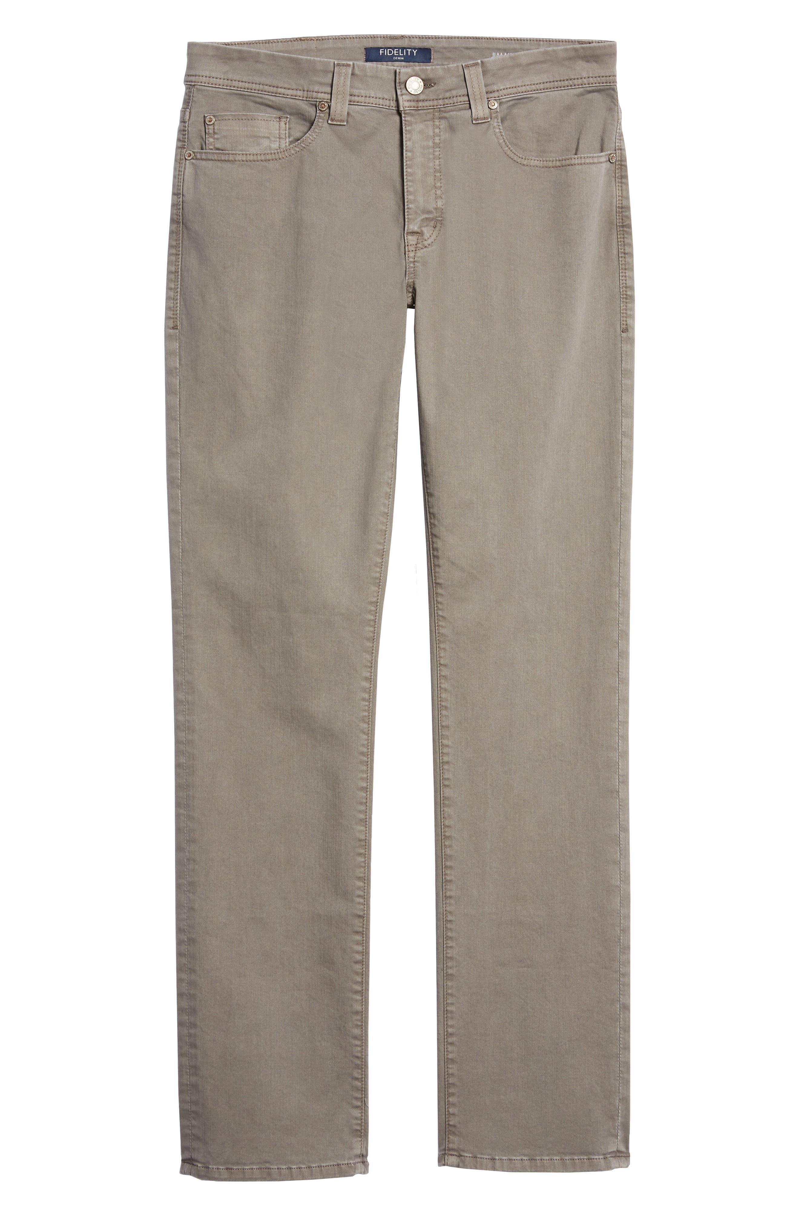Jimmy Slim Straight Leg Jeans,                             Alternate thumbnail 6, color,                             020