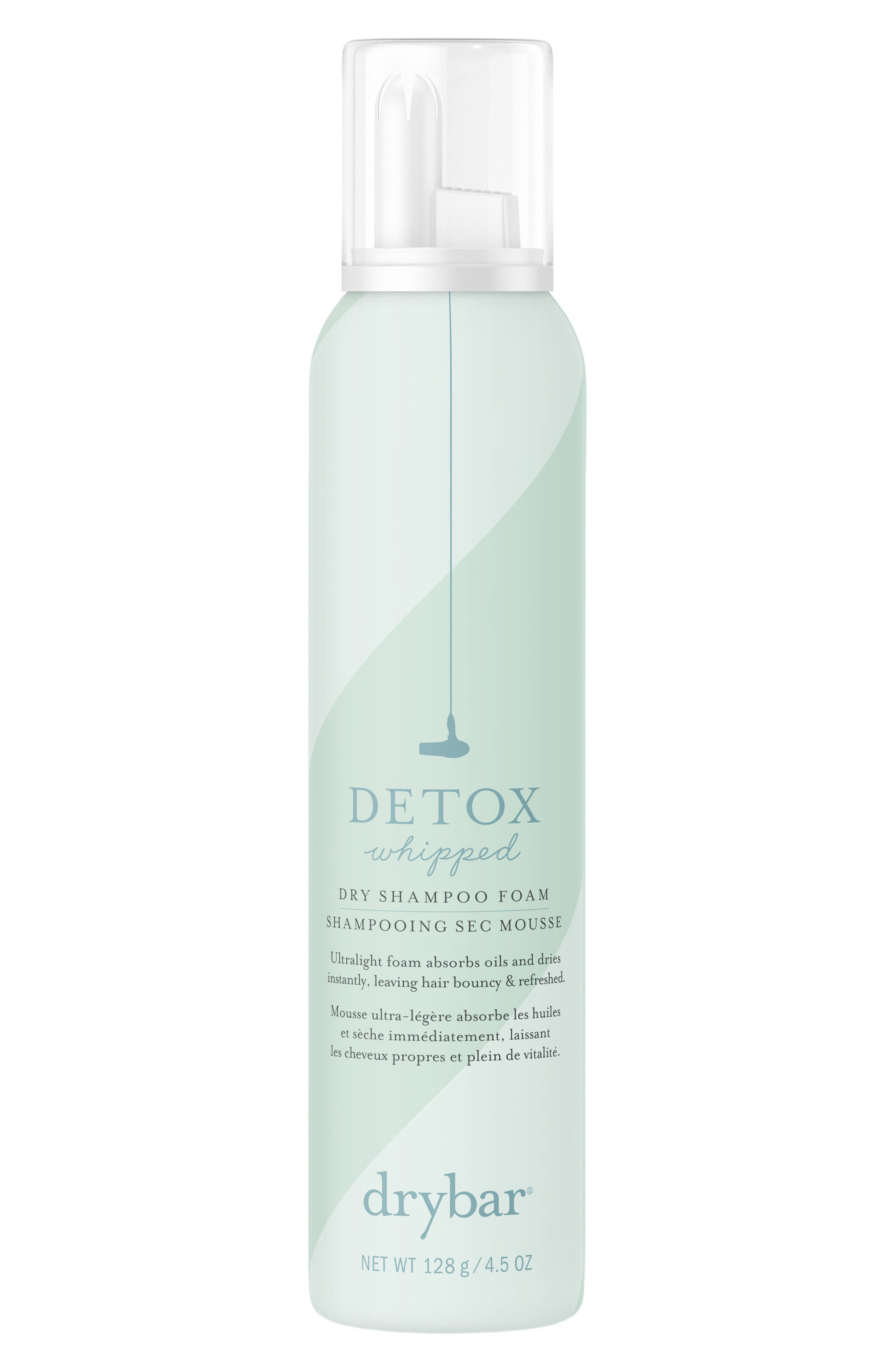 DRYBAR Detox Whipped Dry Shampoo Foam, Main, color, NO COLOR