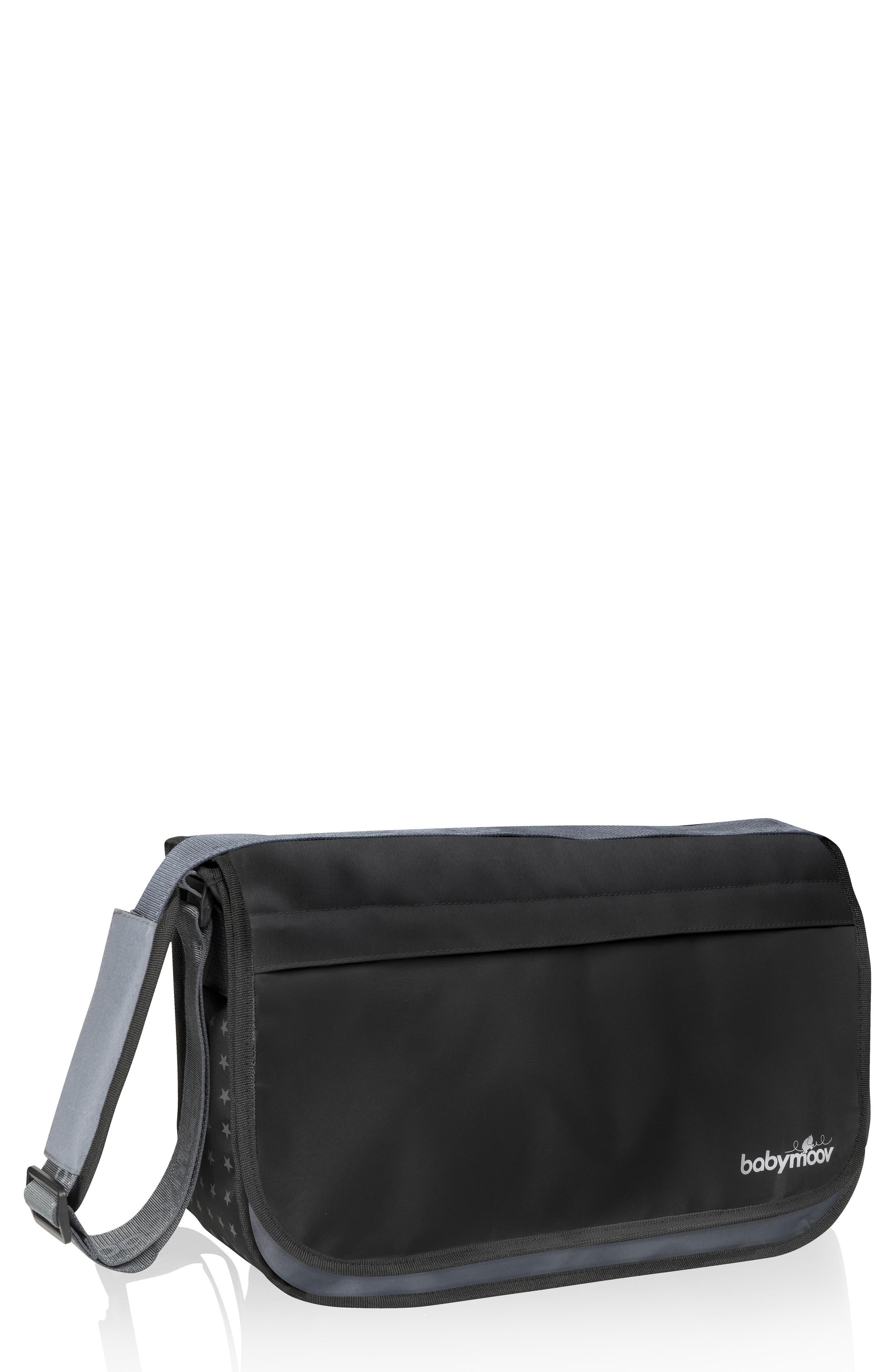 BABYMOOV Messenger Diaper Bag, Main, color, 001