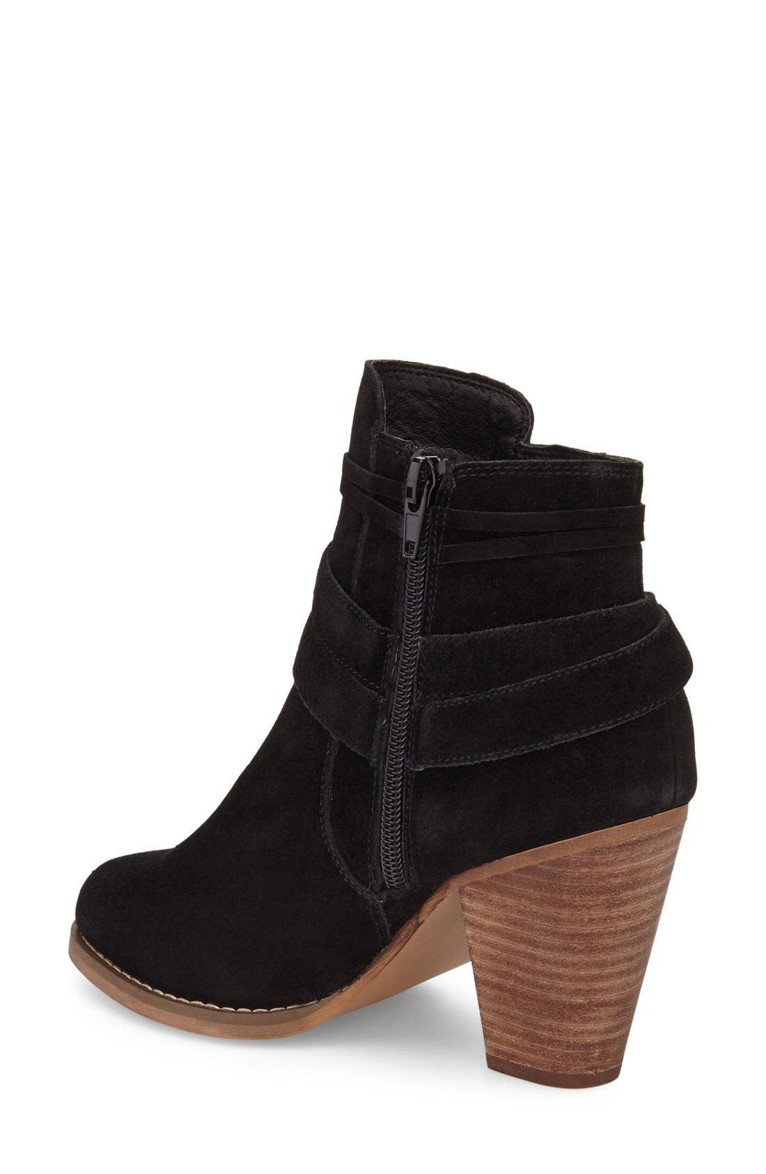 Rumi Bootie,                             Alternate thumbnail 3, color,                             BLACK