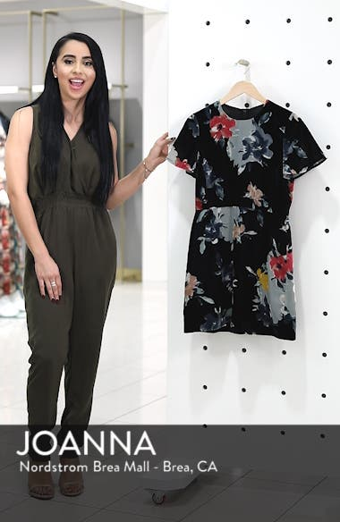 Wilma Devore Burnout Velvet Minidress, sales video thumbnail