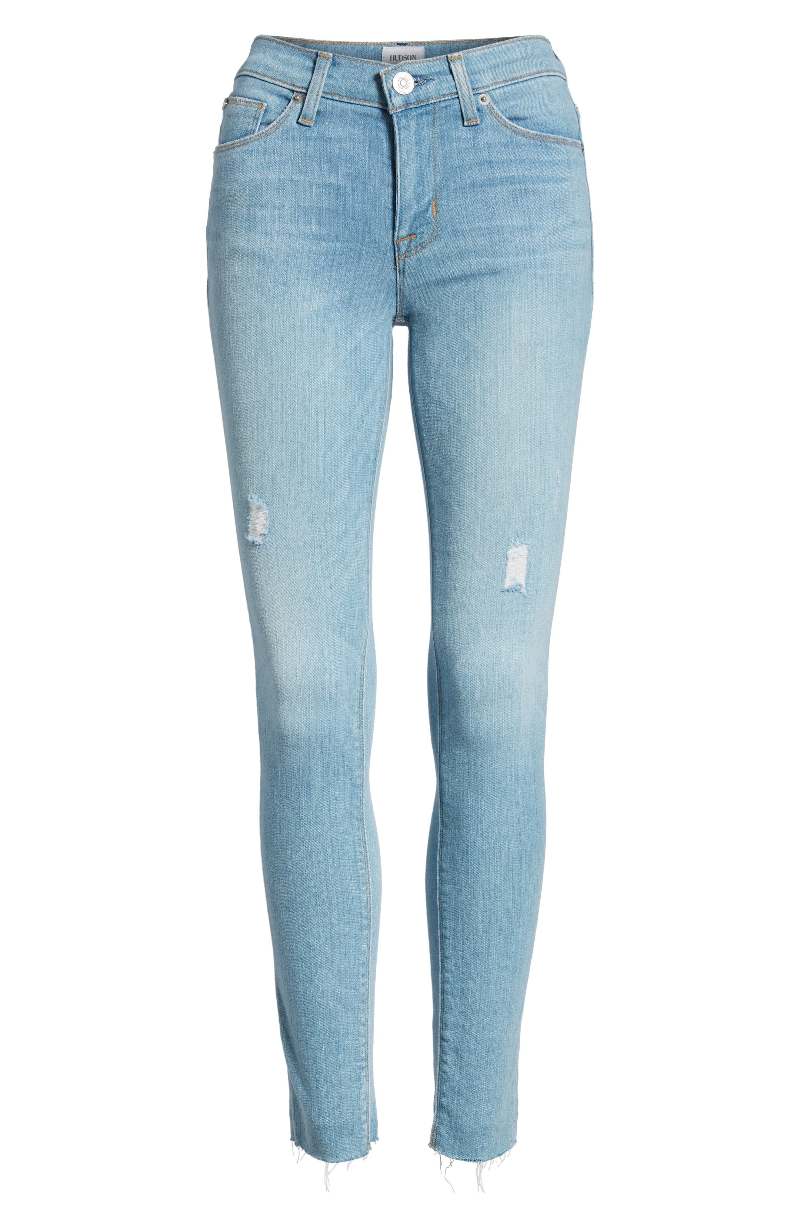 Nico Ankle Super Skinny Jeans,                             Alternate thumbnail 7, color,                             MISS YOU