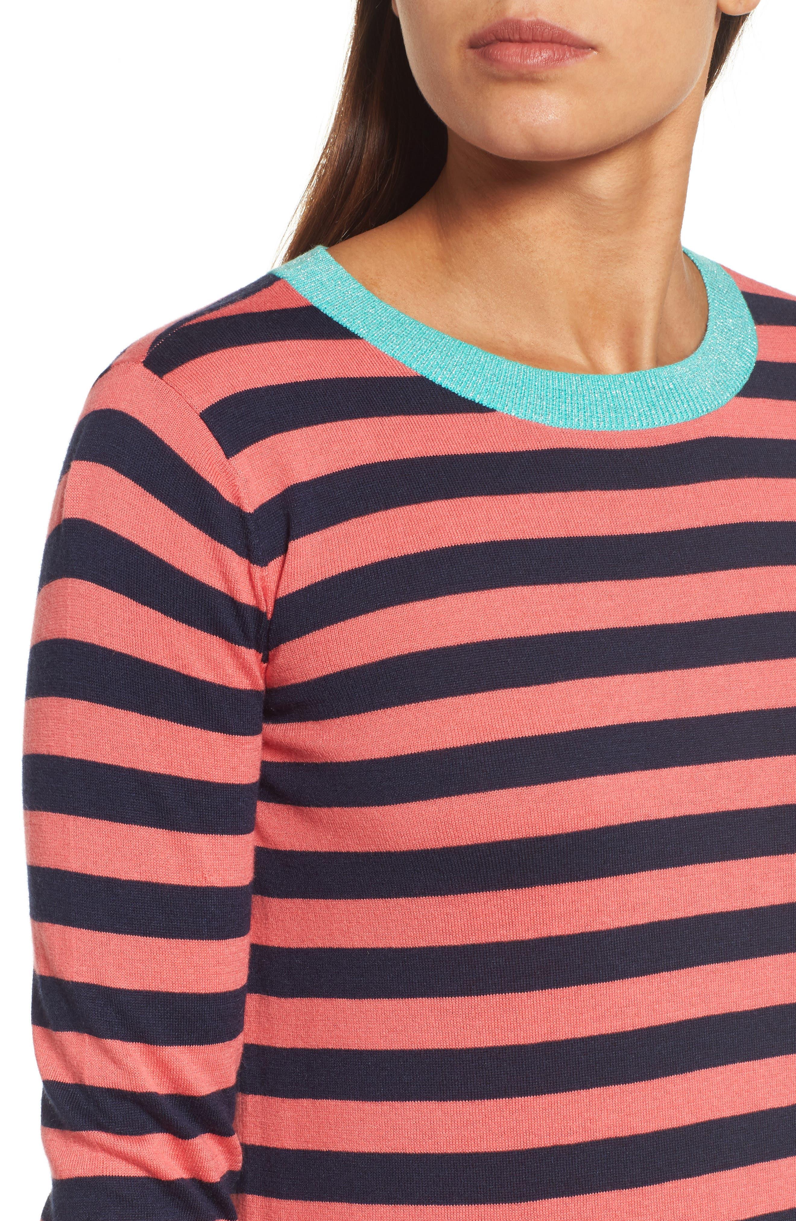 Colorblock Stripe Sweater,                             Alternate thumbnail 16, color,