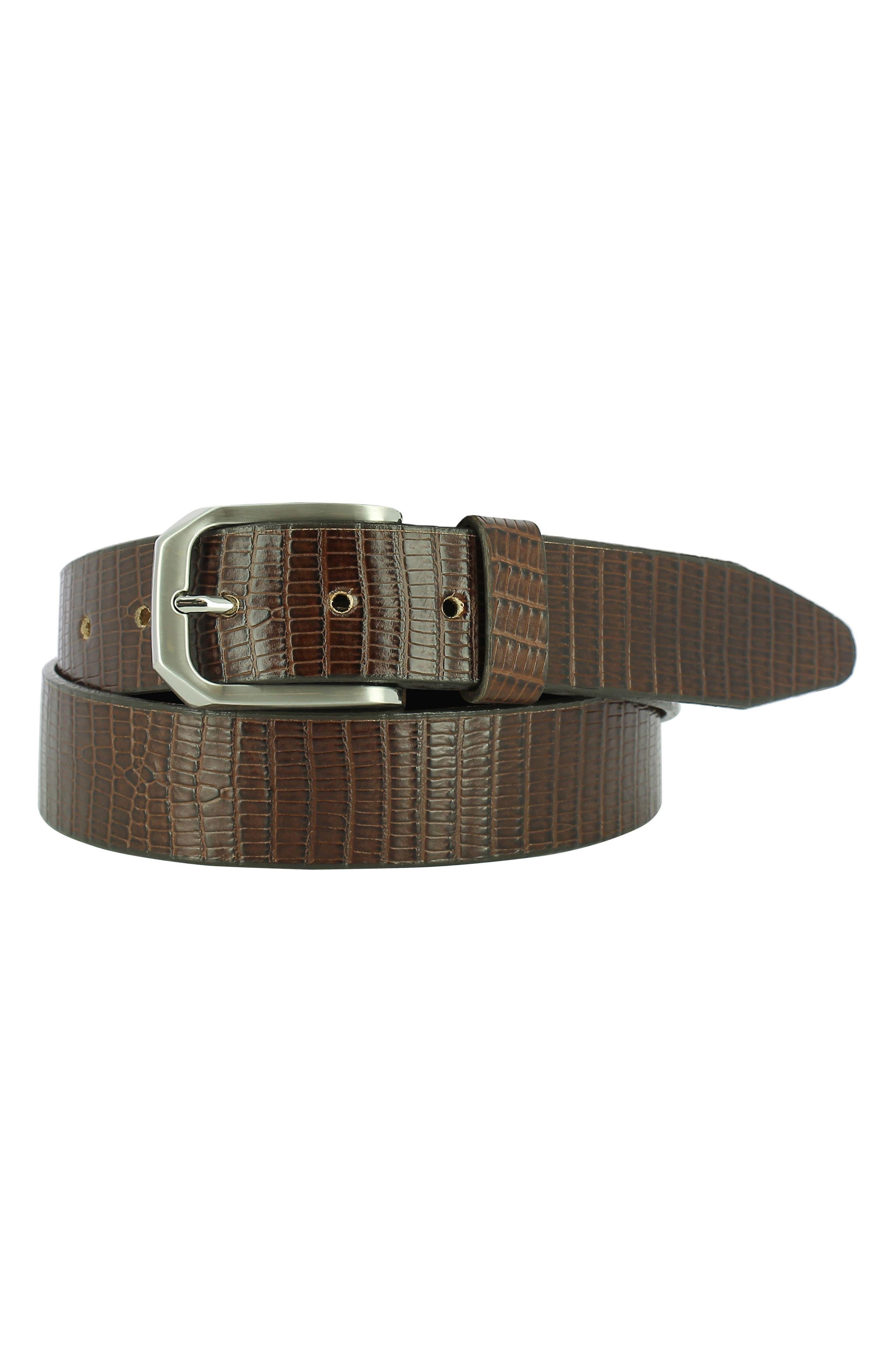 Remo Tulliani Edward Leather Belt, Tan