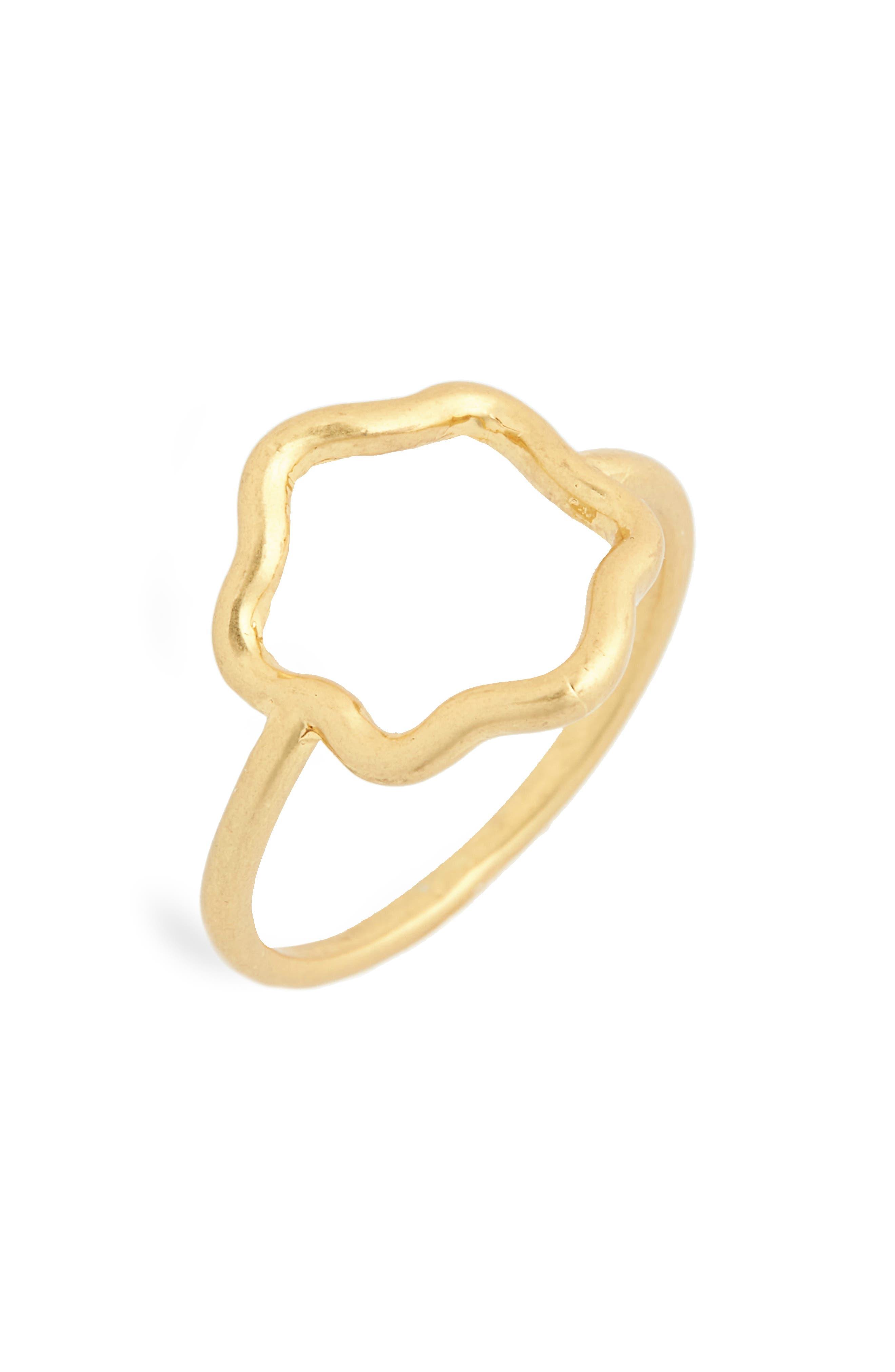 Wobbly Circle Ring,                             Main thumbnail 1, color,