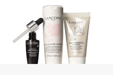 Lancôme bonus gift with purchase.