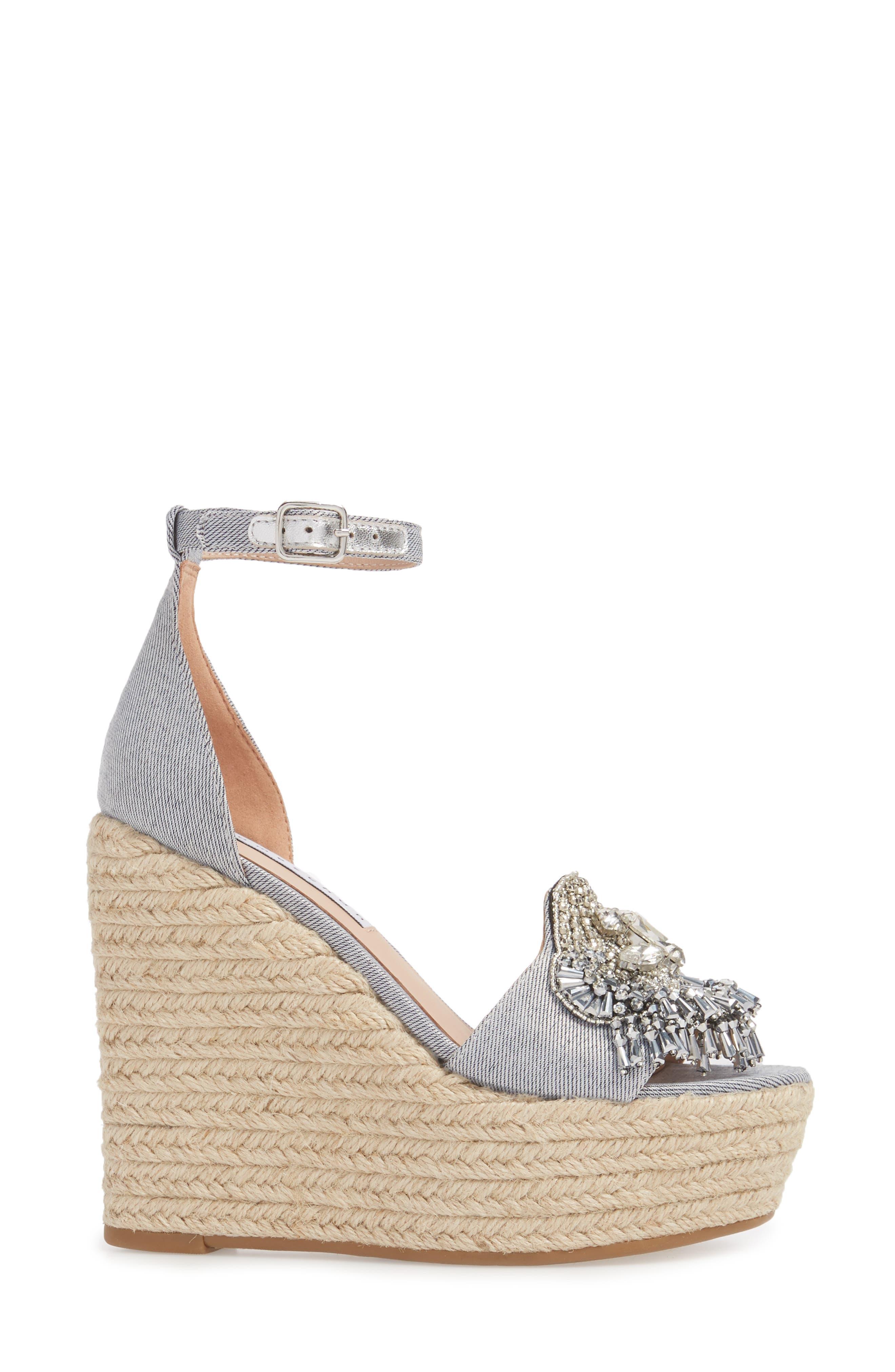 Maxim Platform Wedge Sandal,                             Alternate thumbnail 8, color,