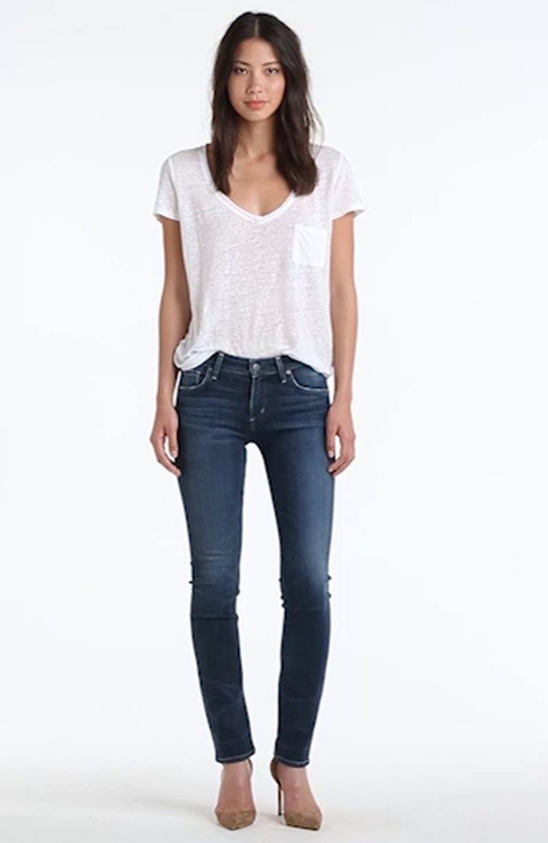 Arielle Slim Jeans,                             Alternate thumbnail 2, color,                             425