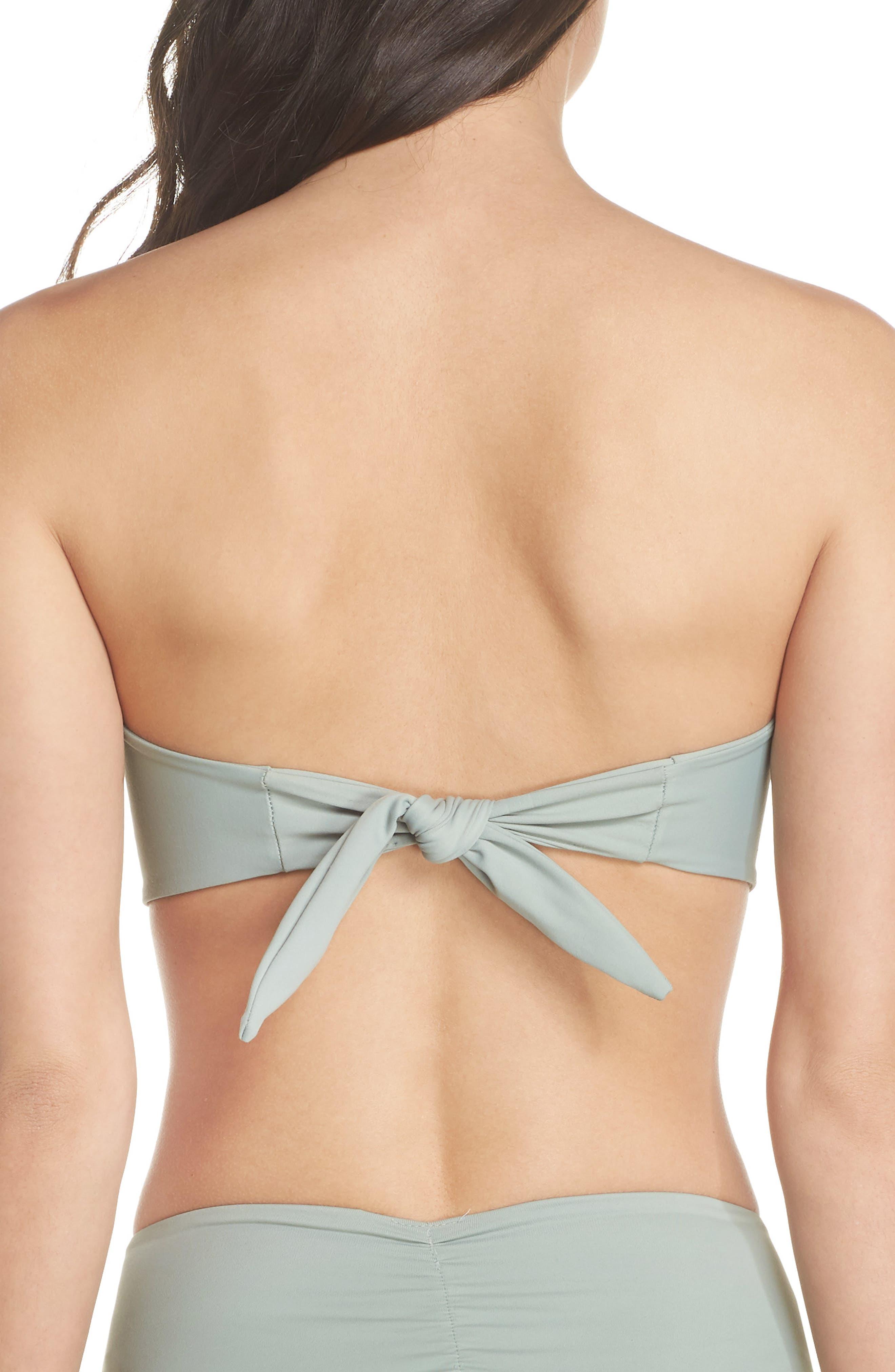 Cabana Bikini Top,                             Alternate thumbnail 3, color,                             PISTACHE GREEN