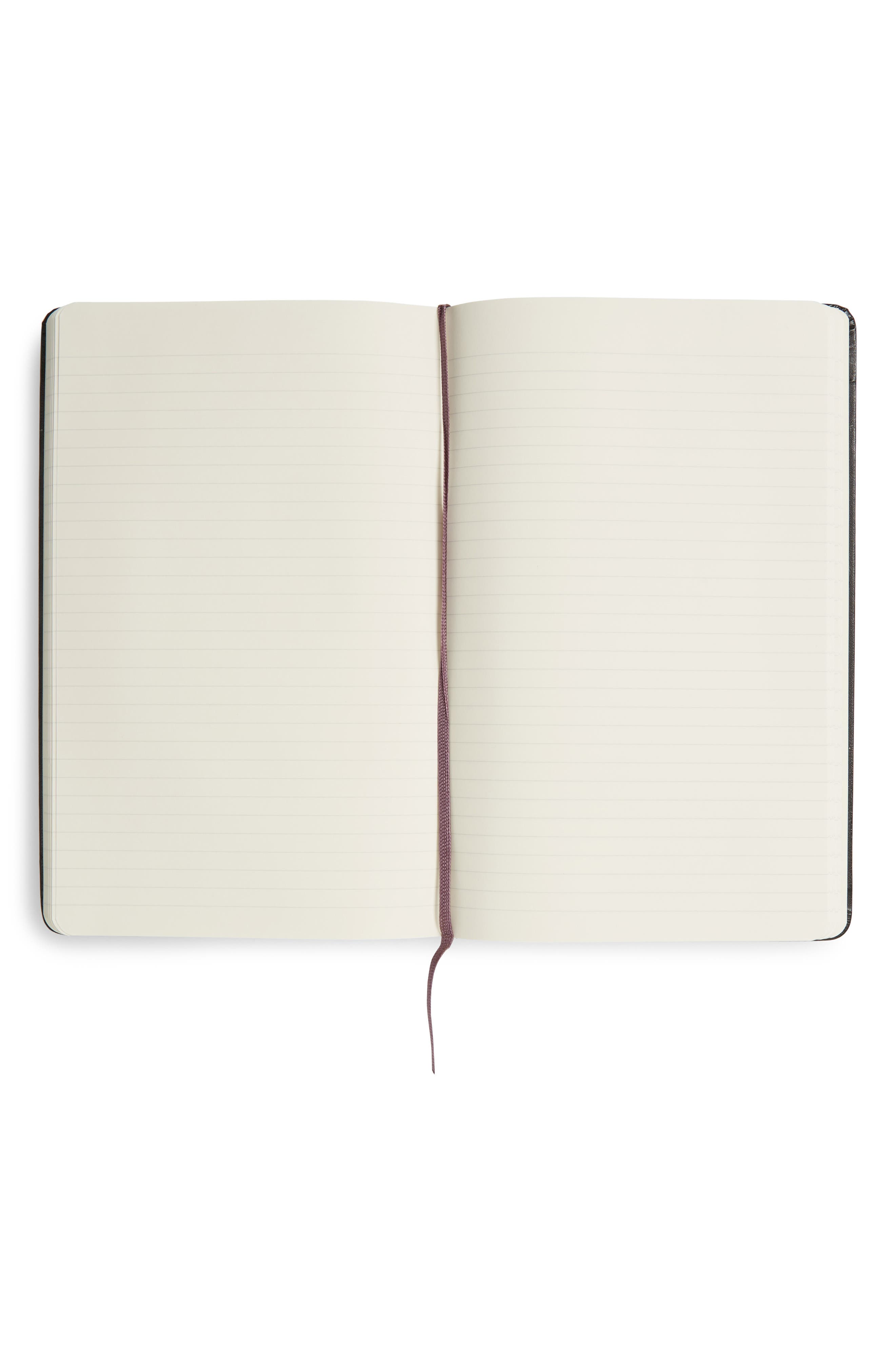 Classic Large Ruled Hardcover Notebook,                             Alternate thumbnail 3, color,