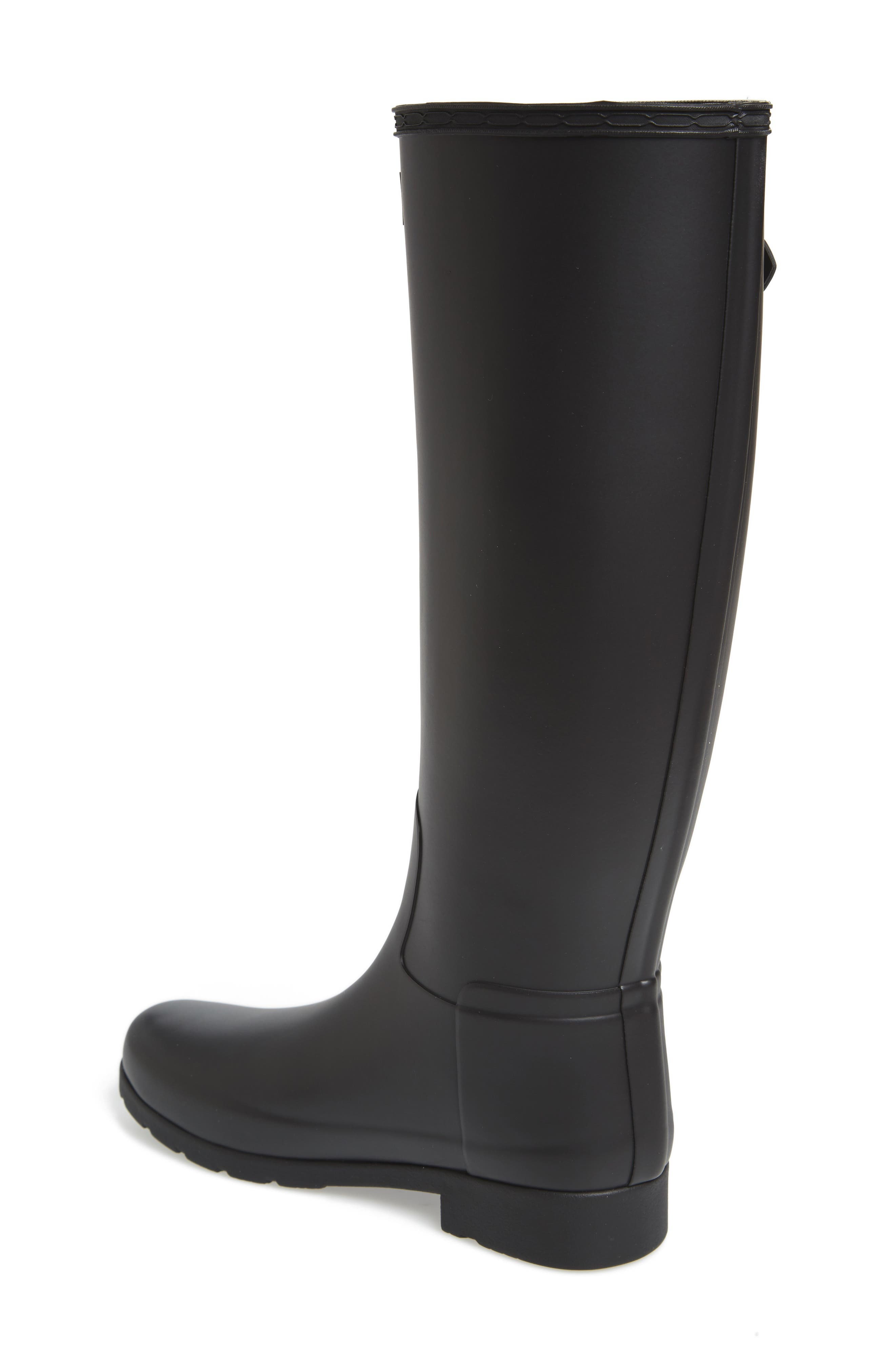Original Refined Rain Boot,                             Alternate thumbnail 2, color,                             BLACK