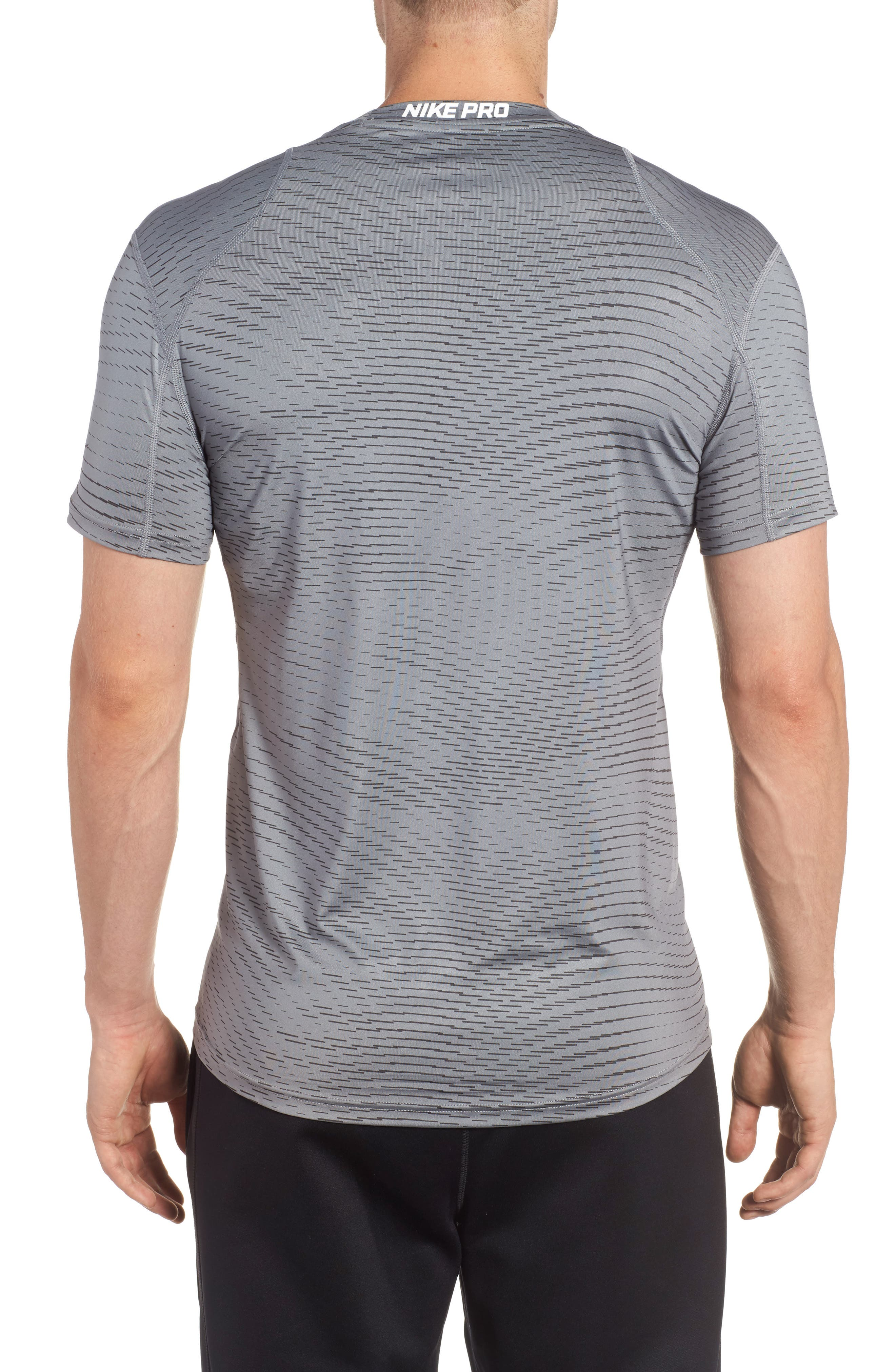 Fitted Athletic T-Shirt,                             Alternate thumbnail 4, color,