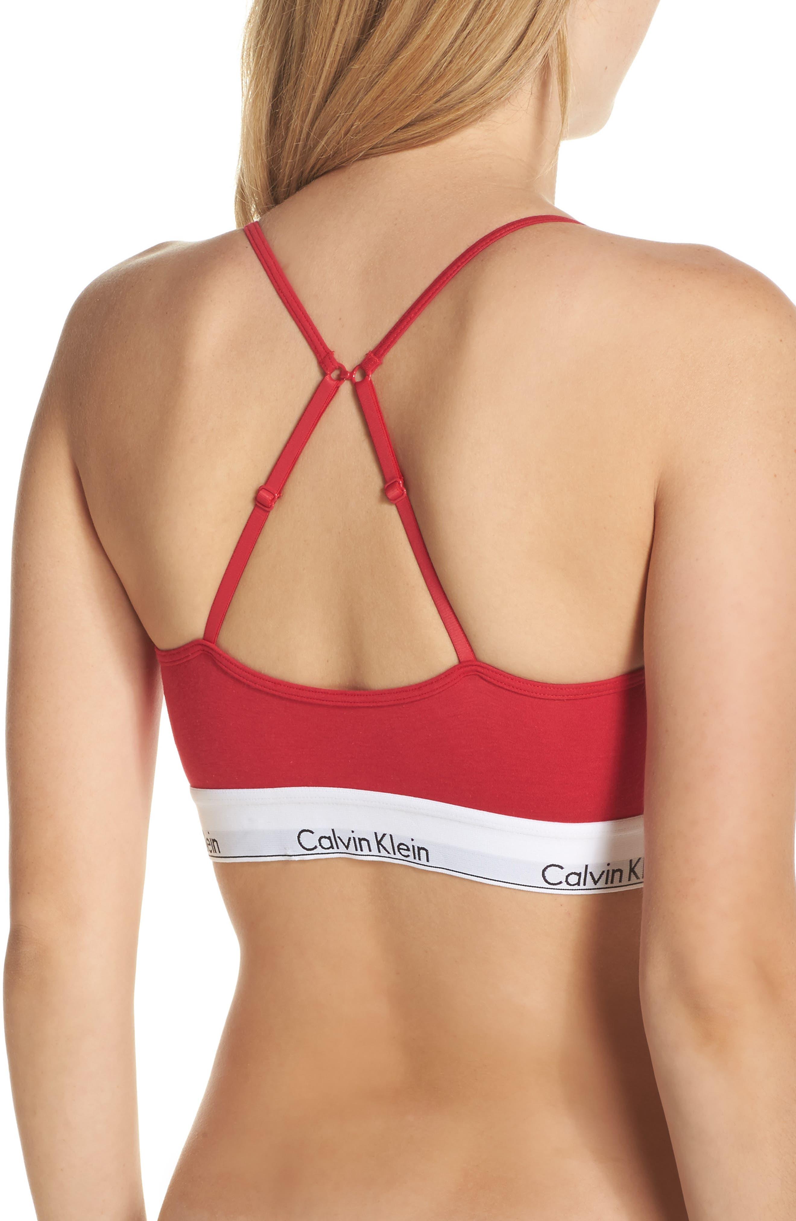 Modern Cotton Bralette,                             Alternate thumbnail 9, color,