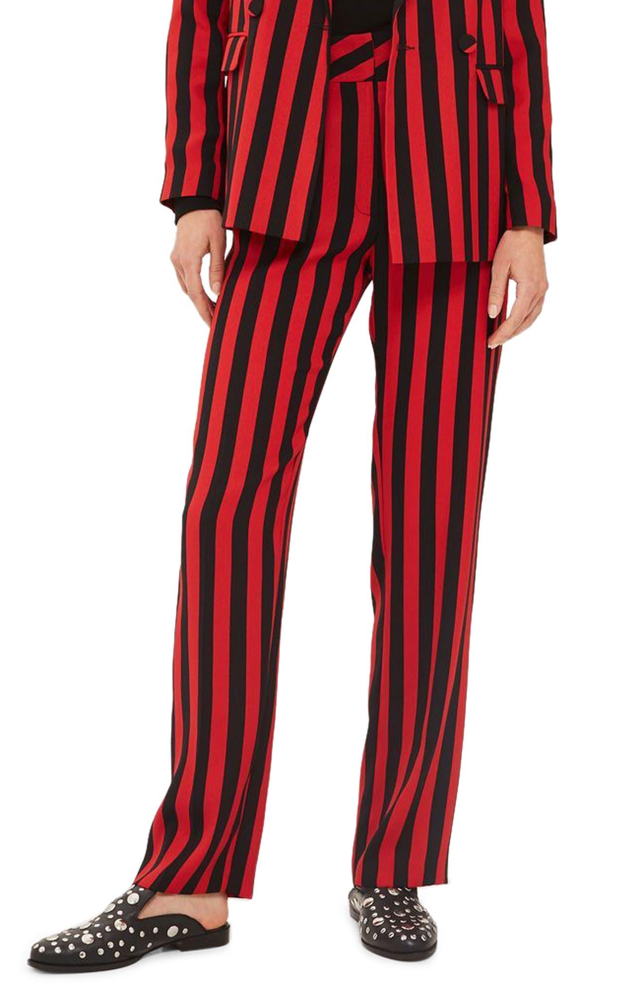 Humbug Stripe Trousers,                             Main thumbnail 2, color,