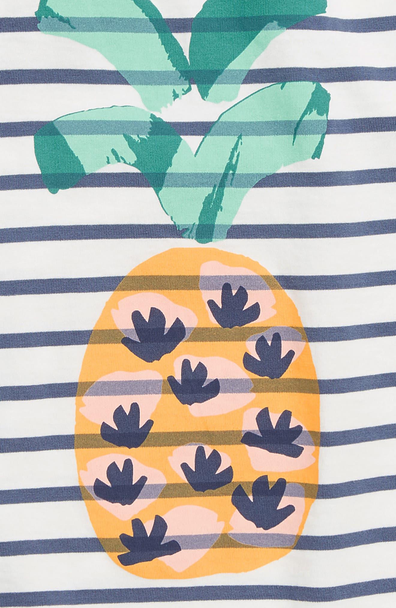 Pineapple Hi/Low Tunic,                             Alternate thumbnail 2, color,                             CROWN BLUE