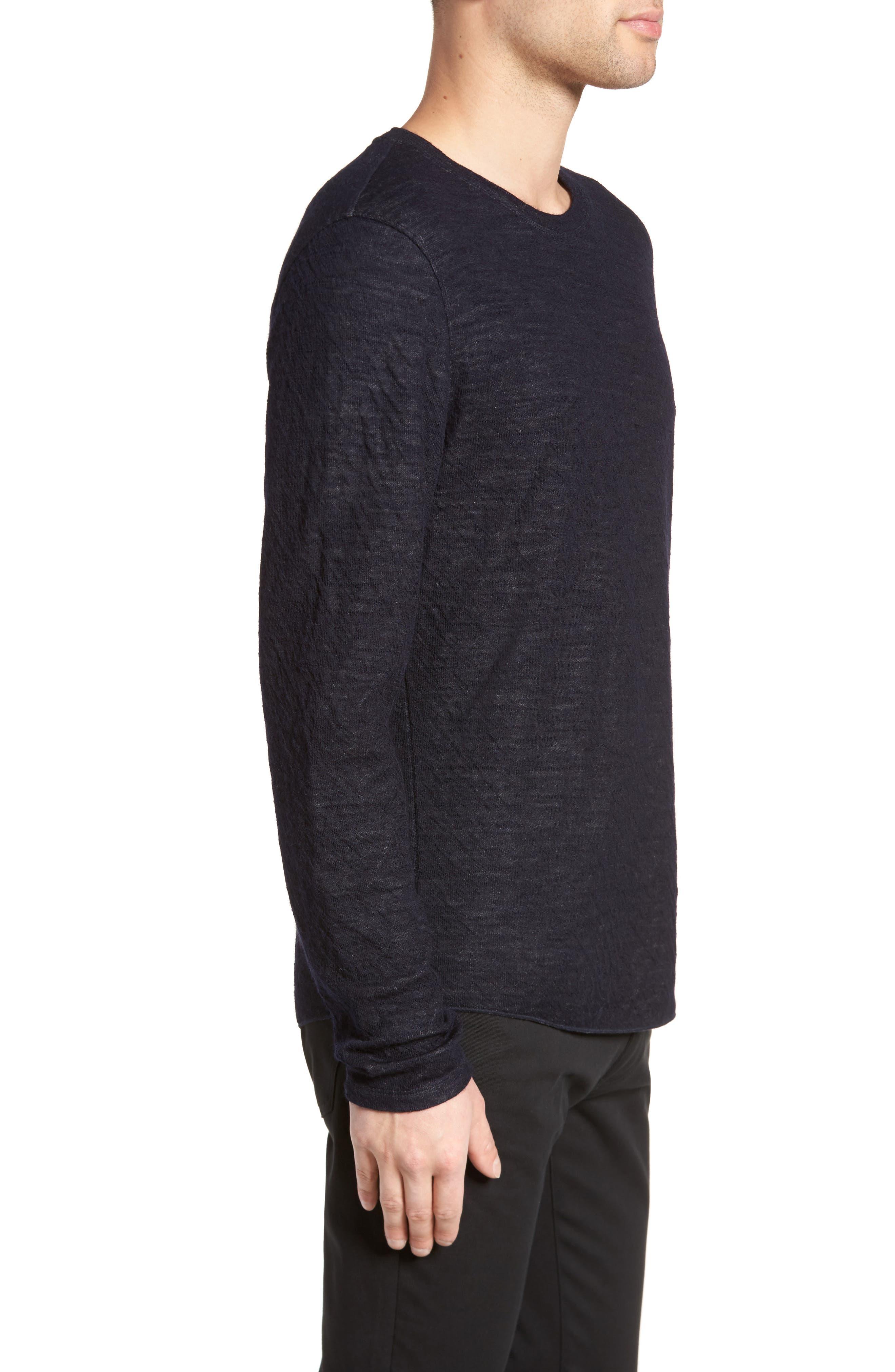 Double Knit Long Sleeve Shirt,                             Alternate thumbnail 6, color,