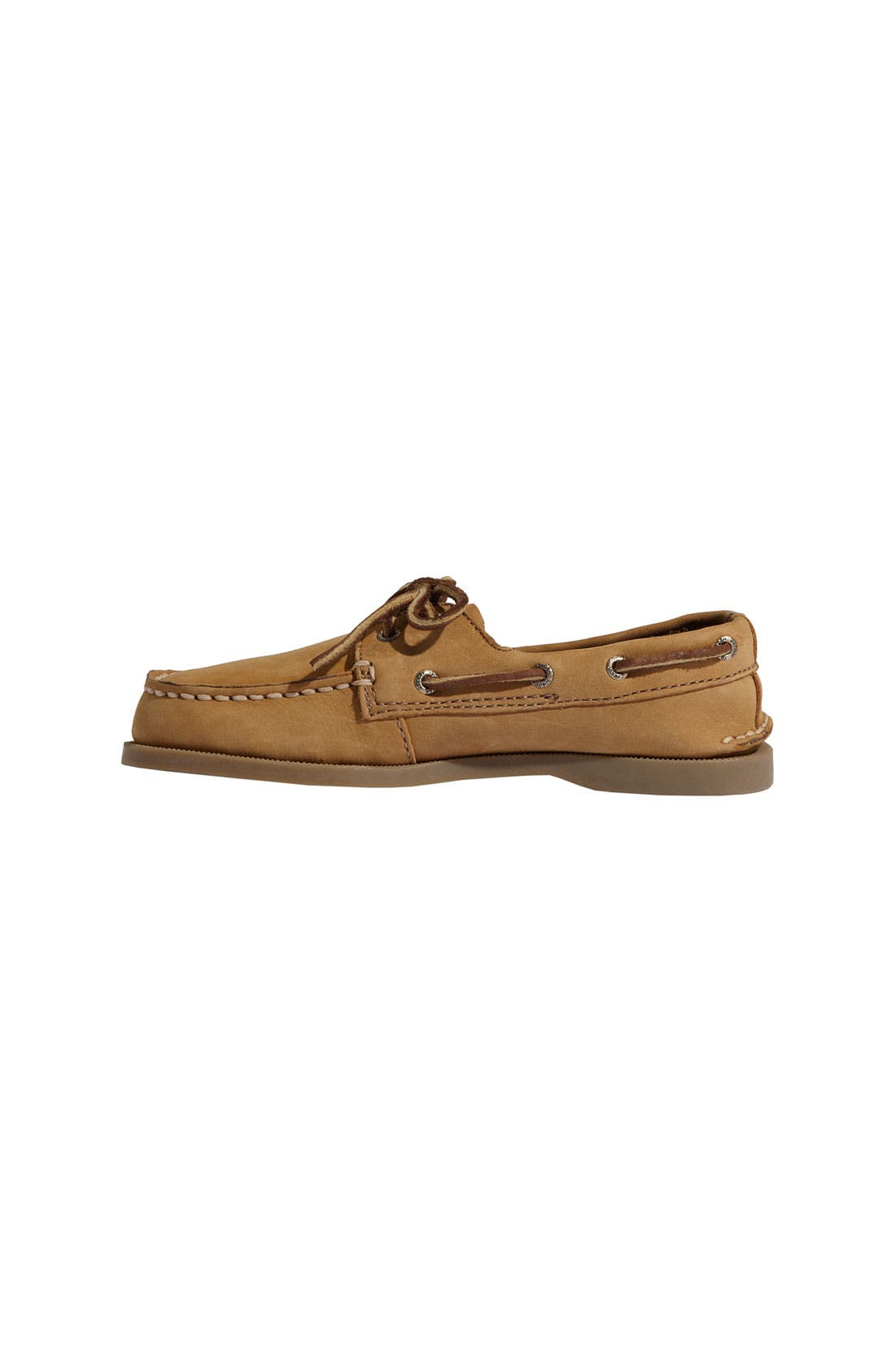 'Authentic Original' Boat Shoe,                             Alternate thumbnail 2, color,                             SAHARA LEATHER