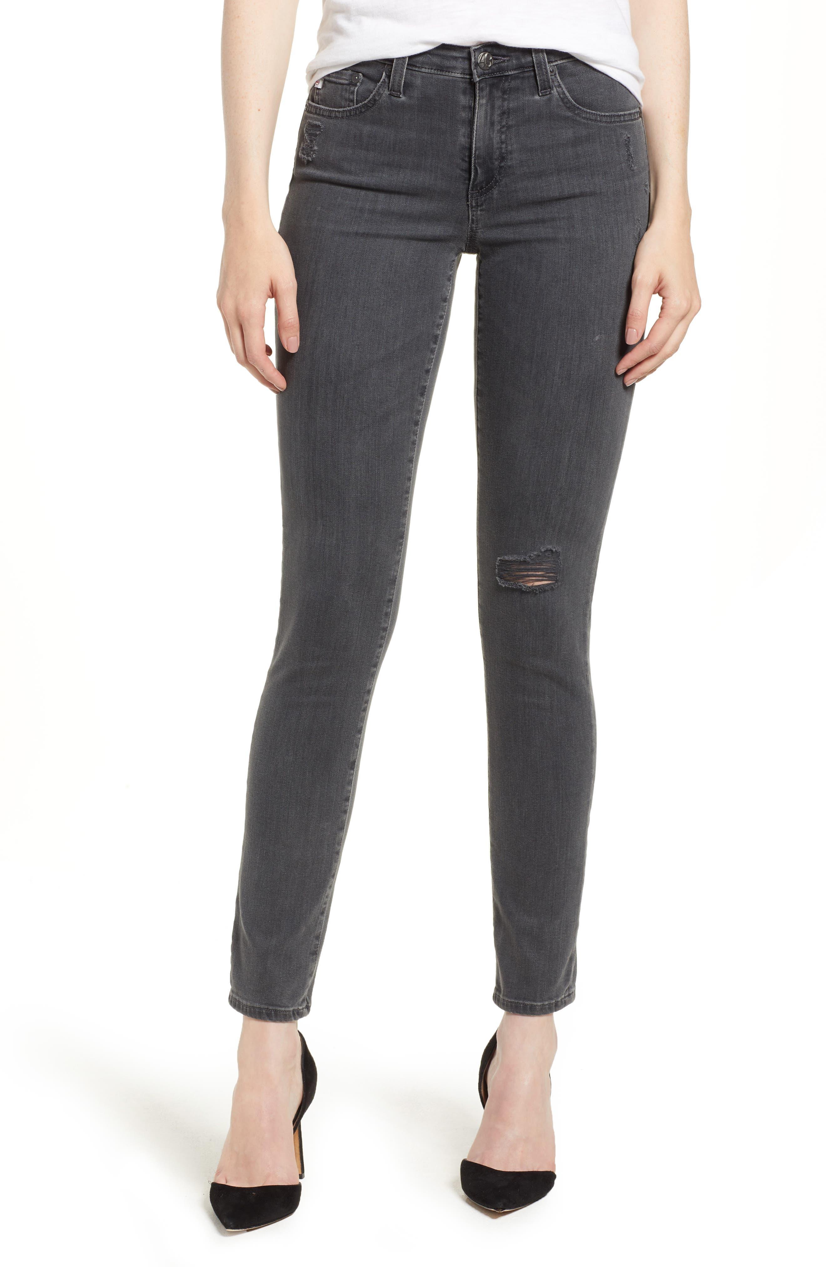 'The Legging' Ankle Super Skinny Jeans,                             Main thumbnail 2, color,