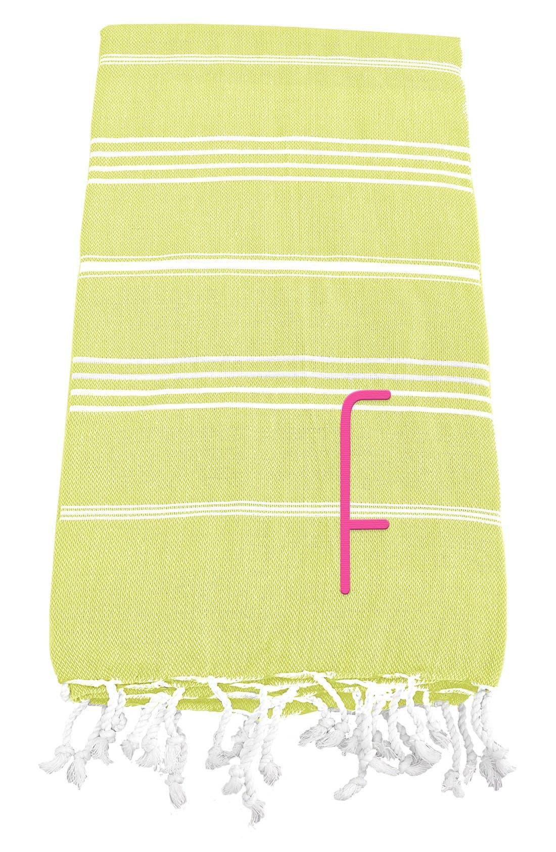 Monogram Turkish Cotton Towel,                             Main thumbnail 35, color,