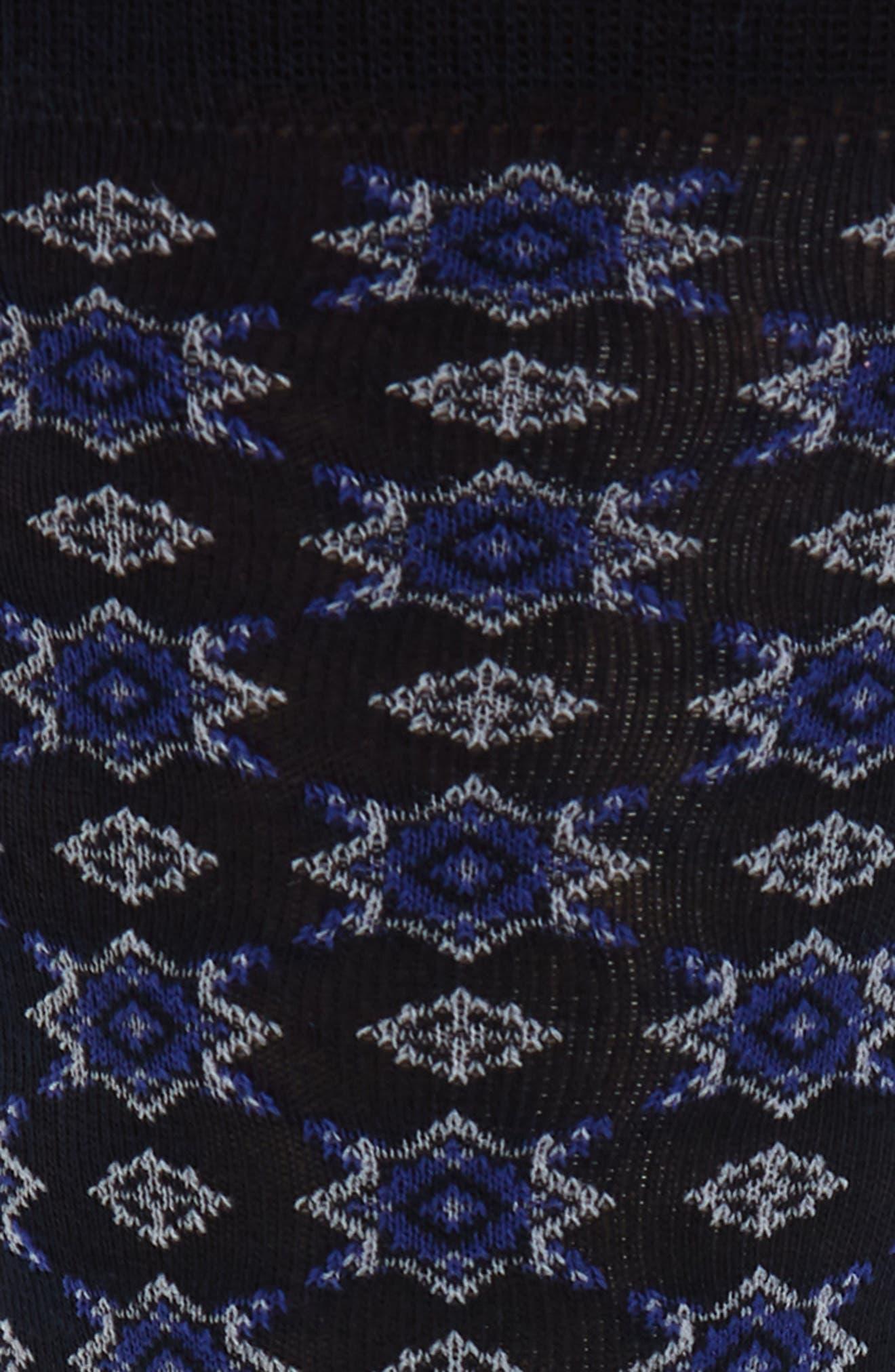 Foulard Geometric Socks,                             Alternate thumbnail 2, color,