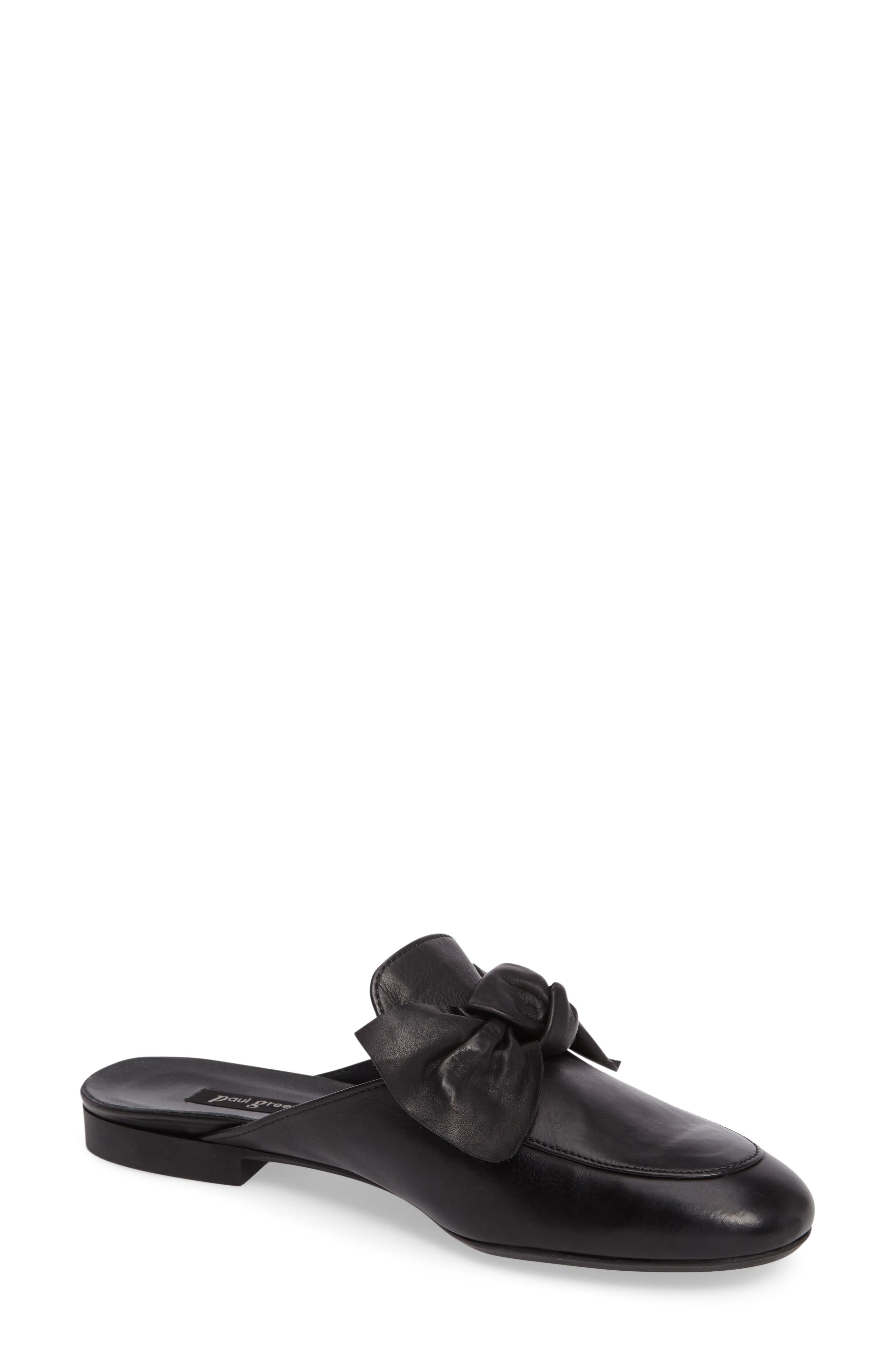 Mary Bow Mule Loafer,                         Main,                         color, 001