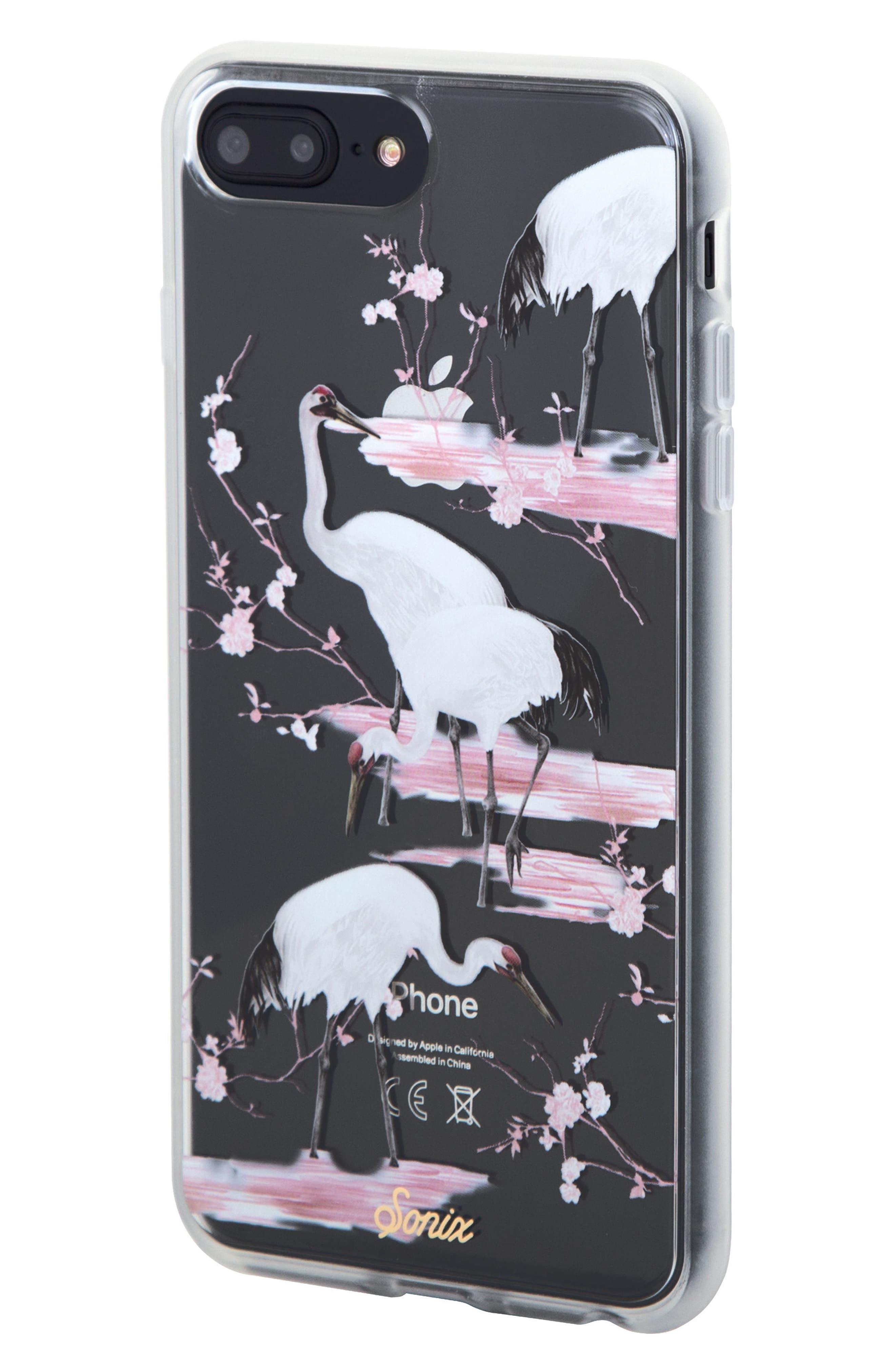 Crane iPhone 6/6s/7/8 Plus Case,                             Alternate thumbnail 2, color,                             WHITE/ PINK