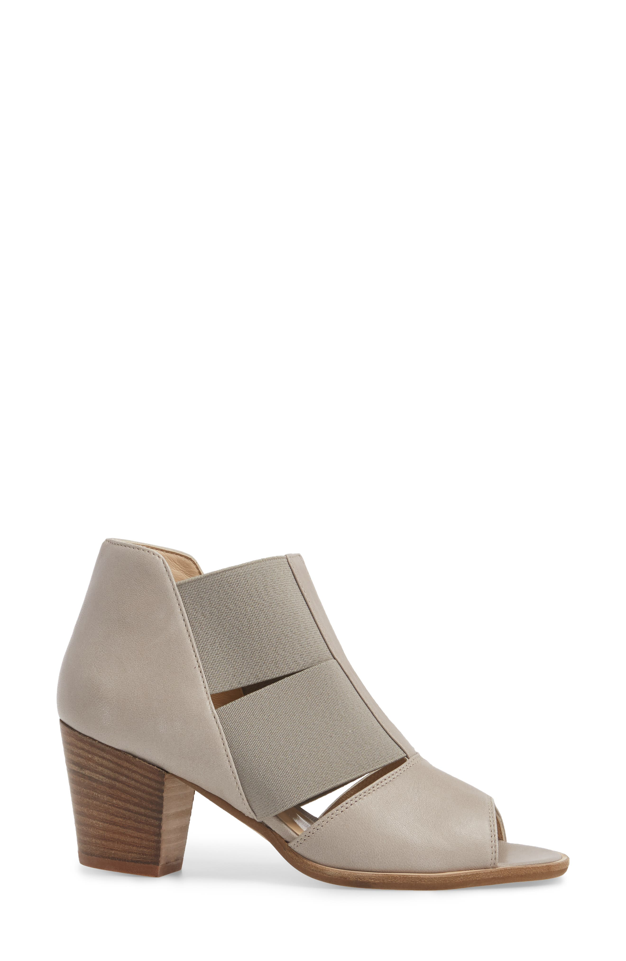 Cestello Bootie,                             Alternate thumbnail 3, color,                             PEARL LEATHER