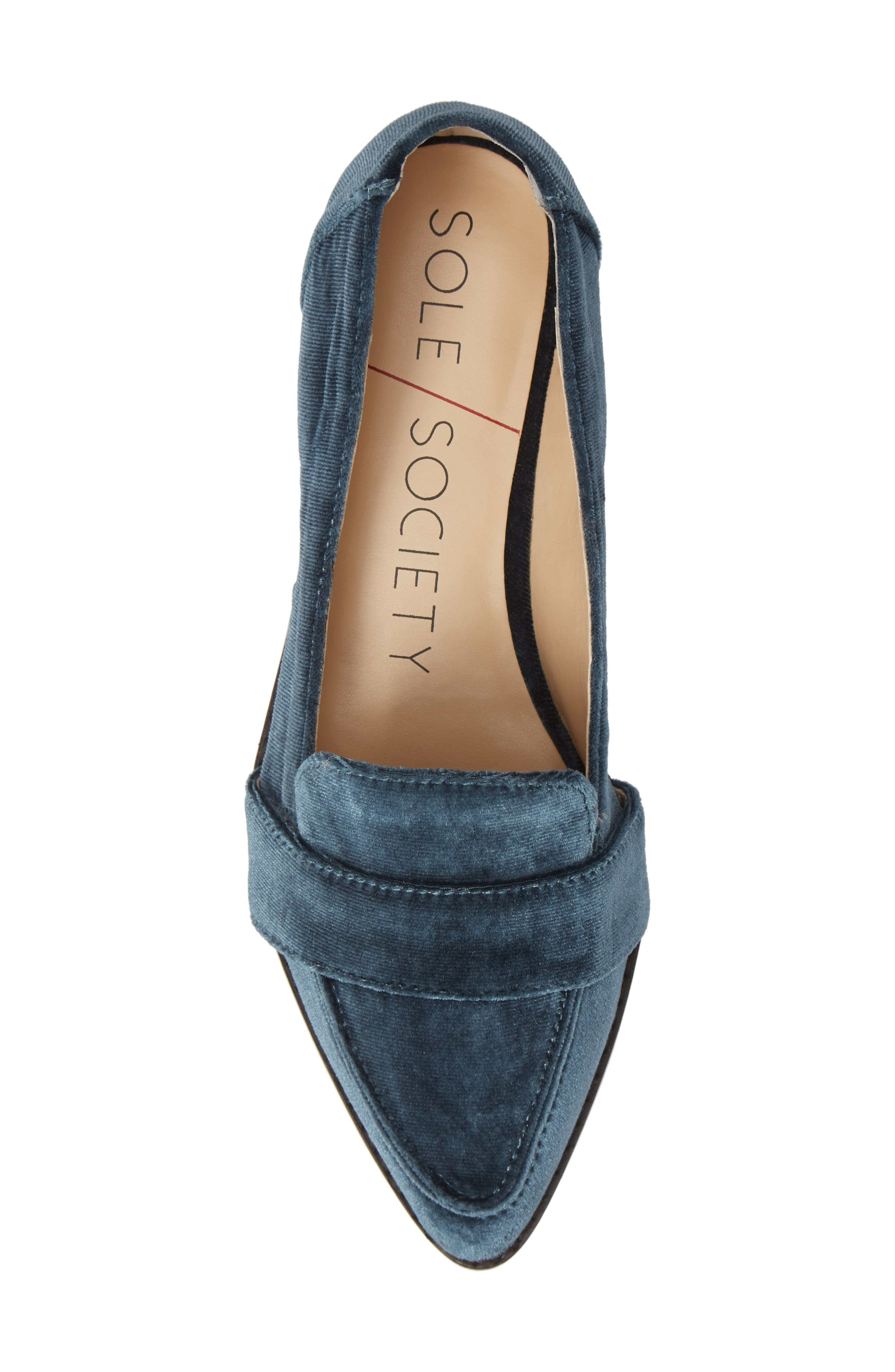 Edie Pointy Toe Loafer,                             Alternate thumbnail 45, color,