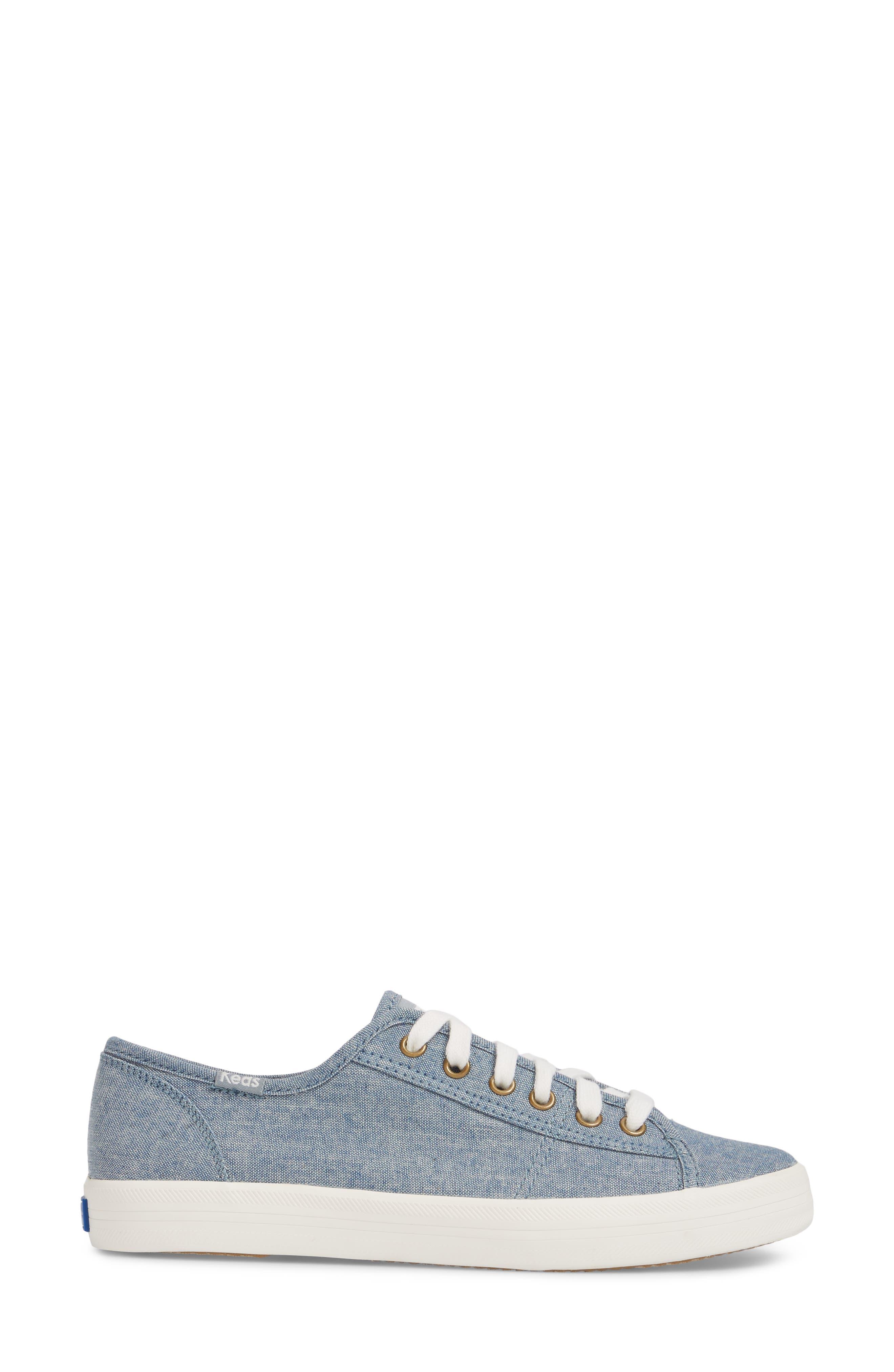 Kickstart Seasonal Solid Sneaker,                             Alternate thumbnail 3, color,                             400