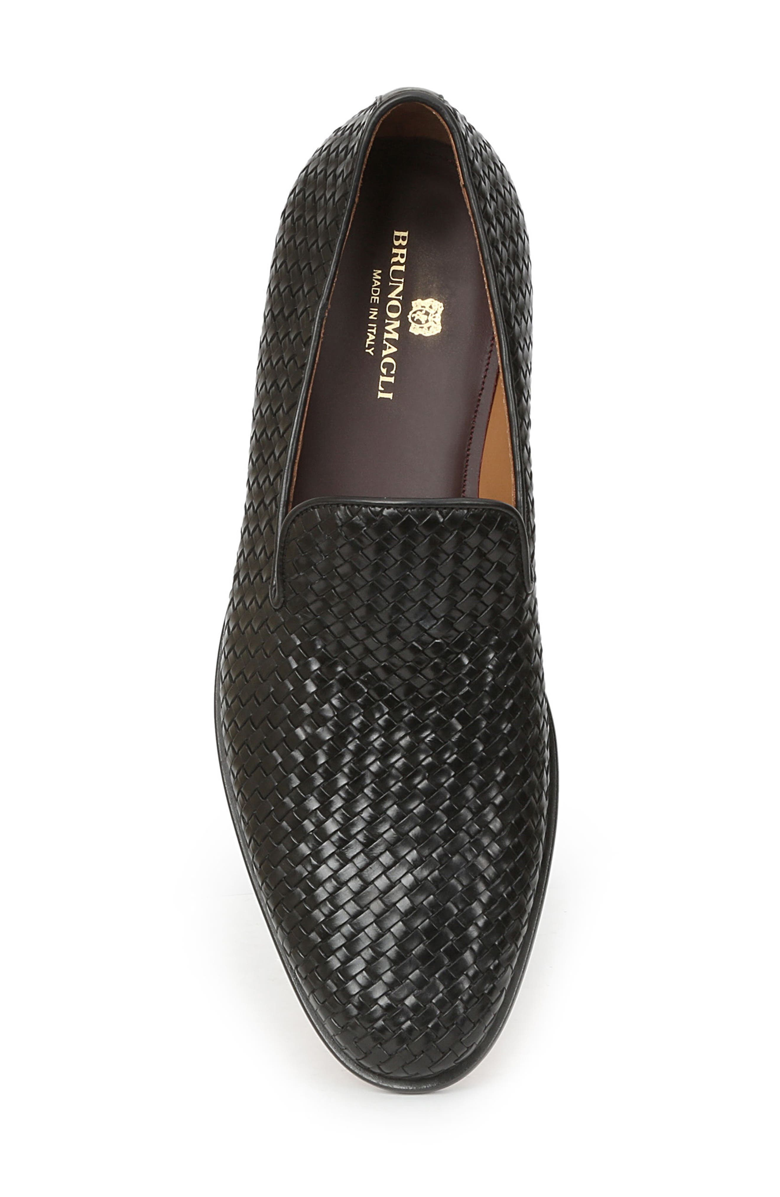 Picasso Woven Venetian Loafer,                             Alternate thumbnail 5, color,                             004