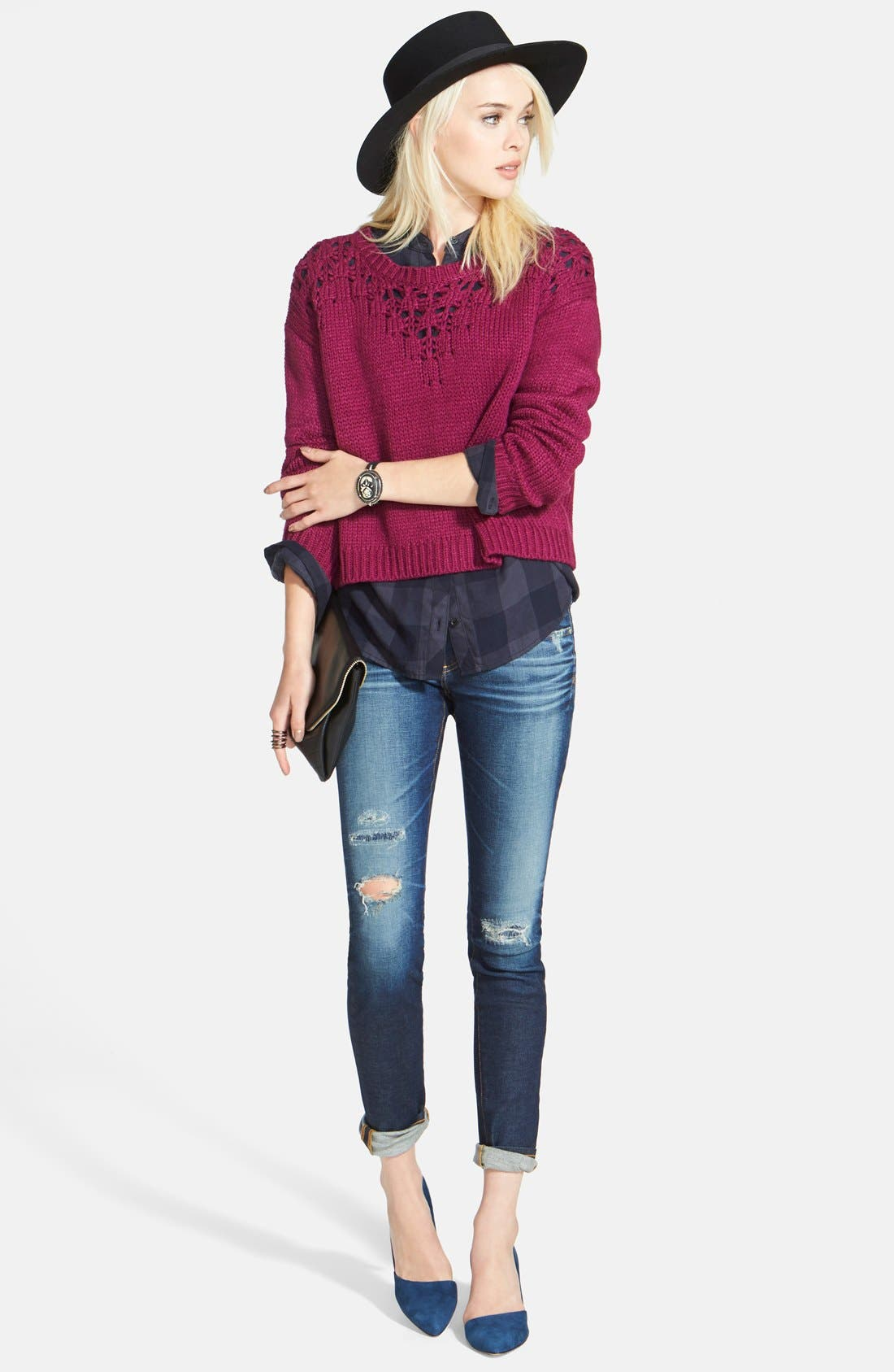 The Legging Ankle Jeans,                             Alternate thumbnail 147, color,