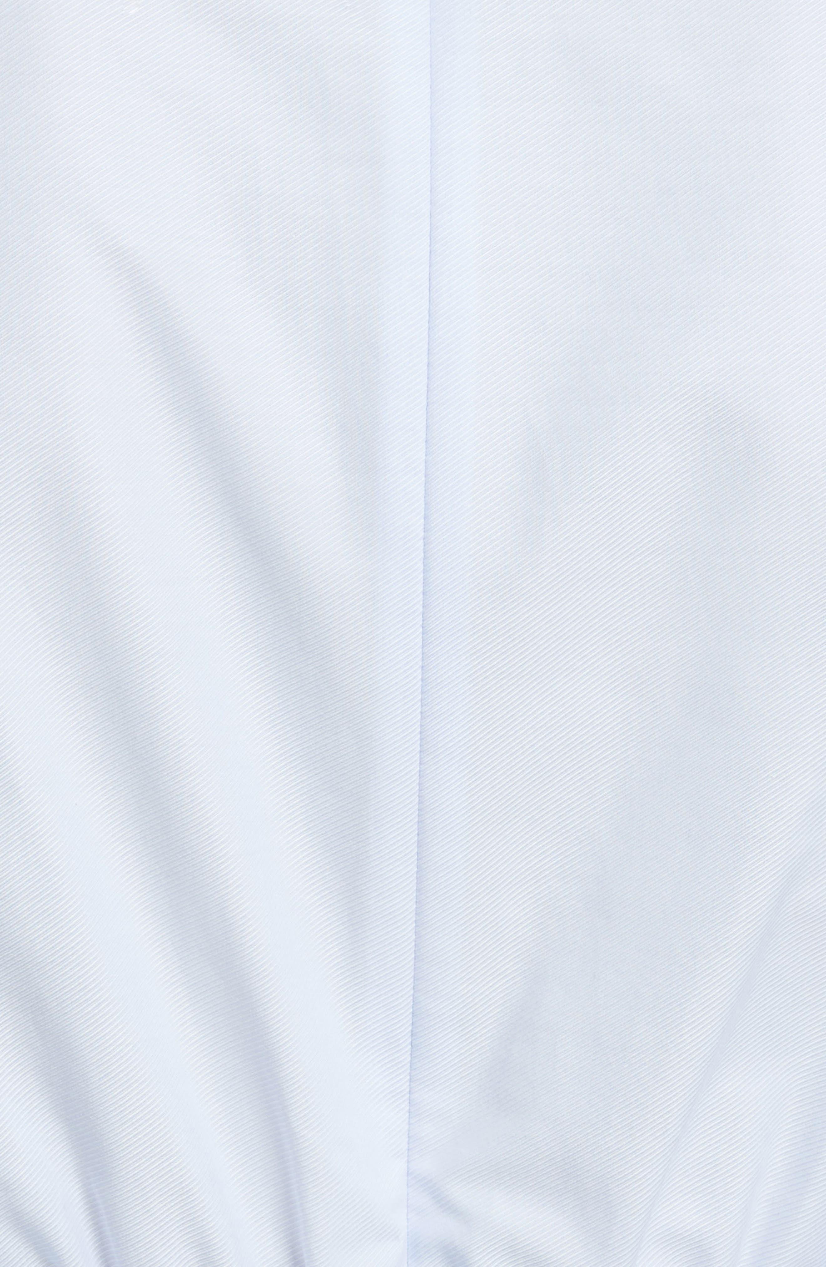 Prose & Poetry Charleene Cotton Balloon Sleeve Dress,                             Alternate thumbnail 5, color,
