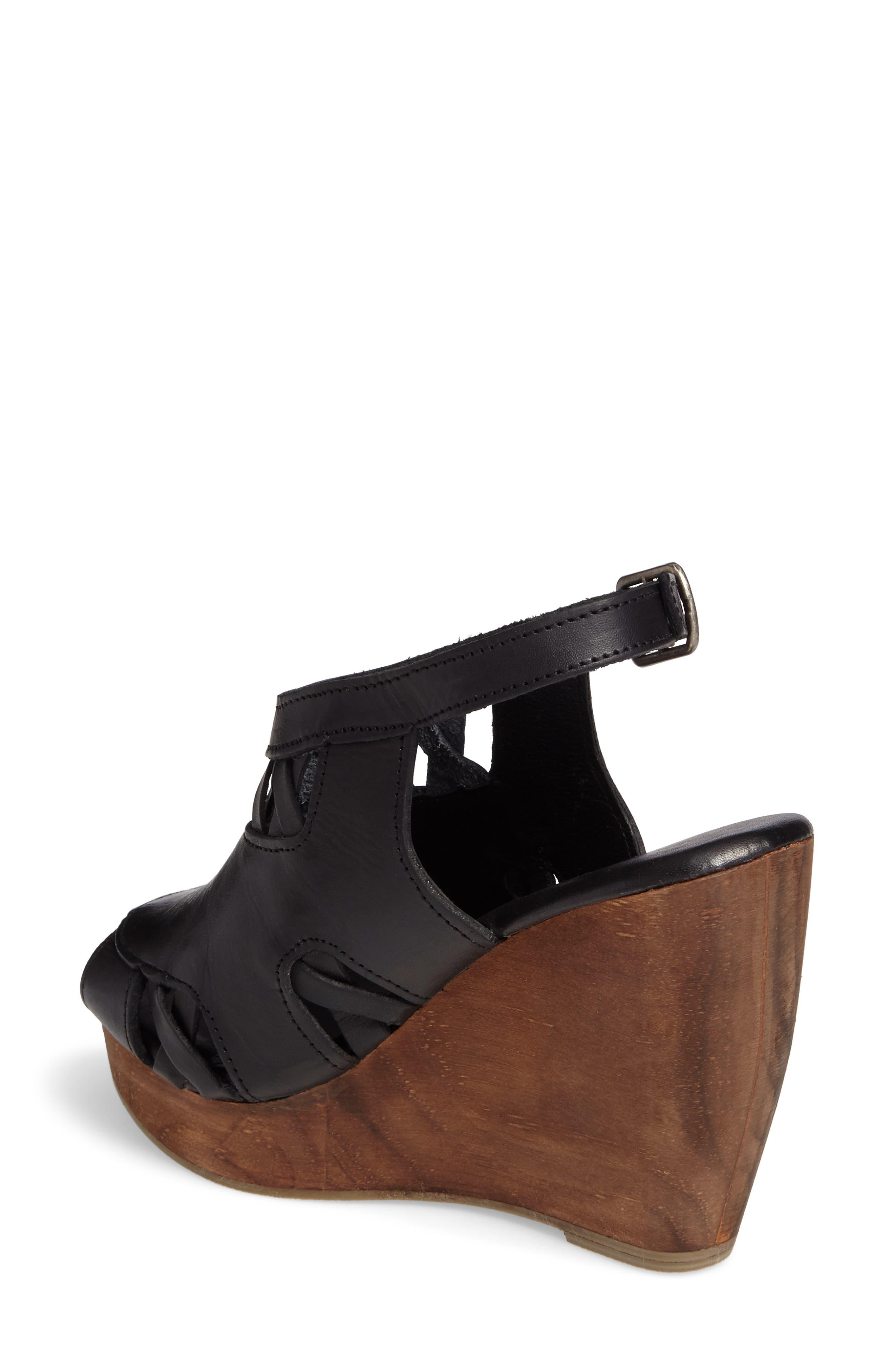 Sloane Platform Wedge Sandal,                             Alternate thumbnail 3, color,