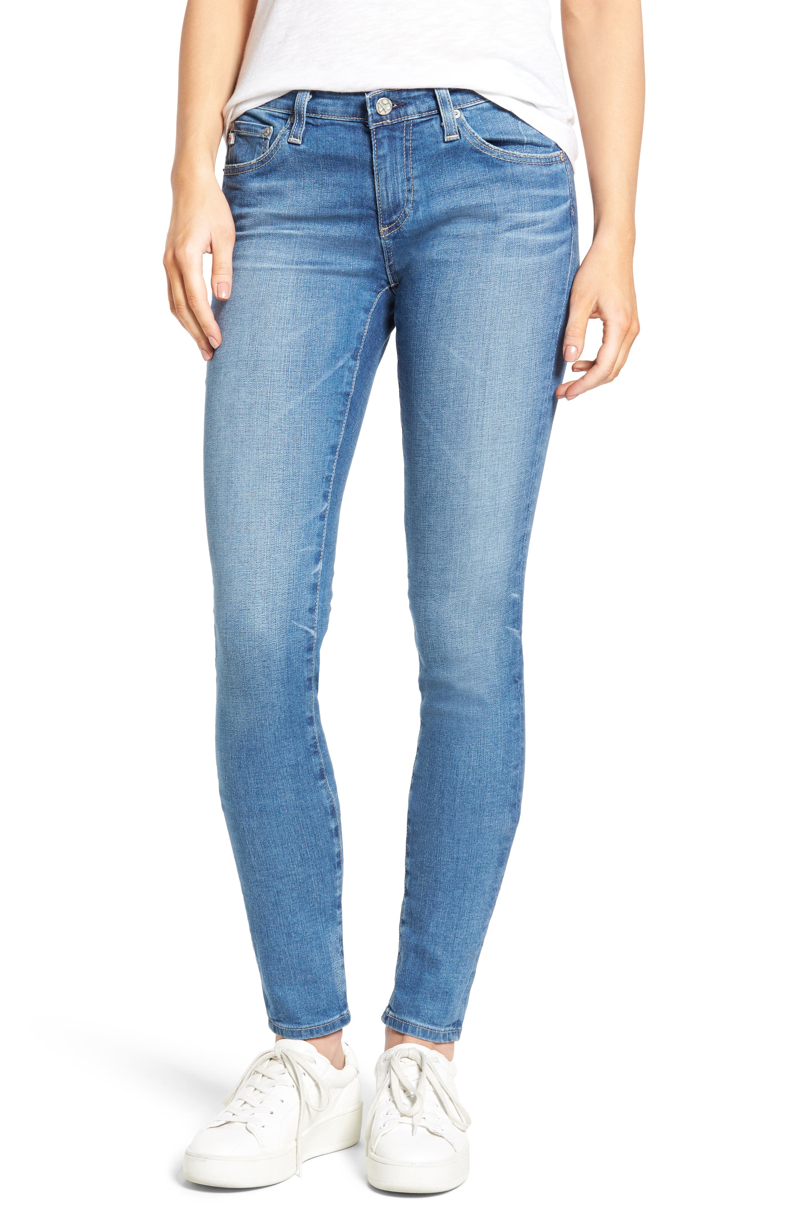 'The Legging' Super Skinny Jeans,                             Main thumbnail 12, color,