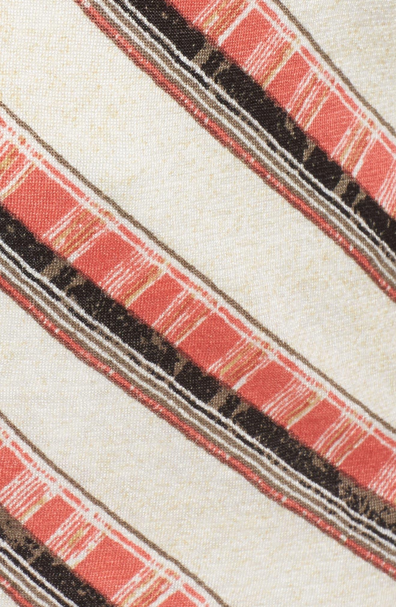 NIC + ZOE Firecracker Linen Blend Top,                             Alternate thumbnail 5, color,                             MULTI